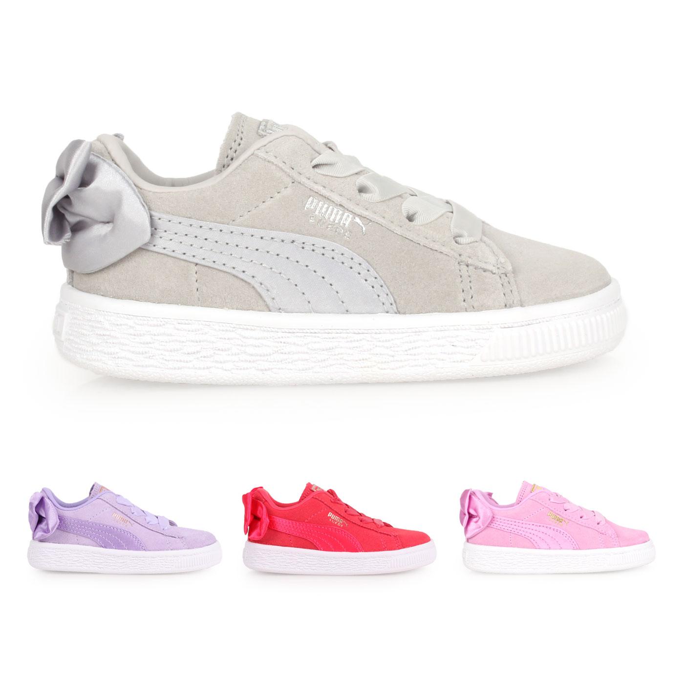 PUMA 兒童休閒運動鞋(蝴蝶結款)  @Suede Bow AC Inf@36732002
