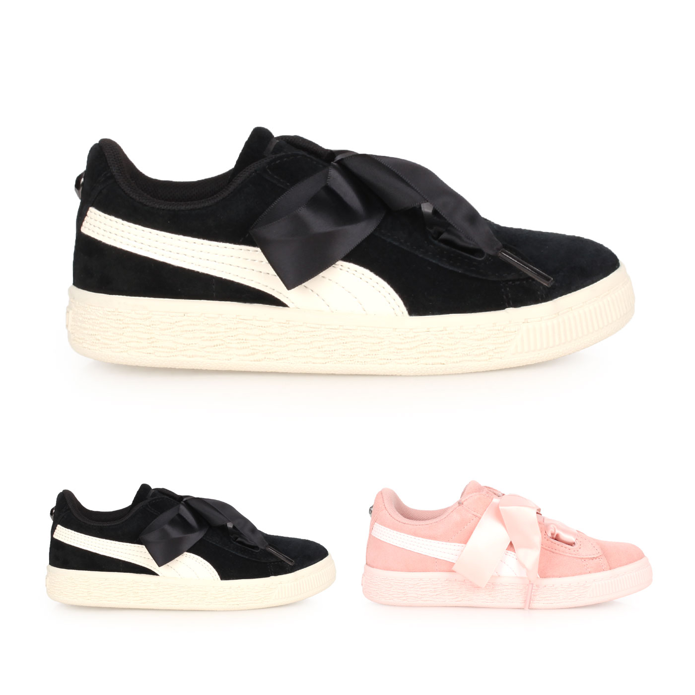 PUMA 兒童休閒運動鞋  @Suede Heart Jewel PS@36513903
