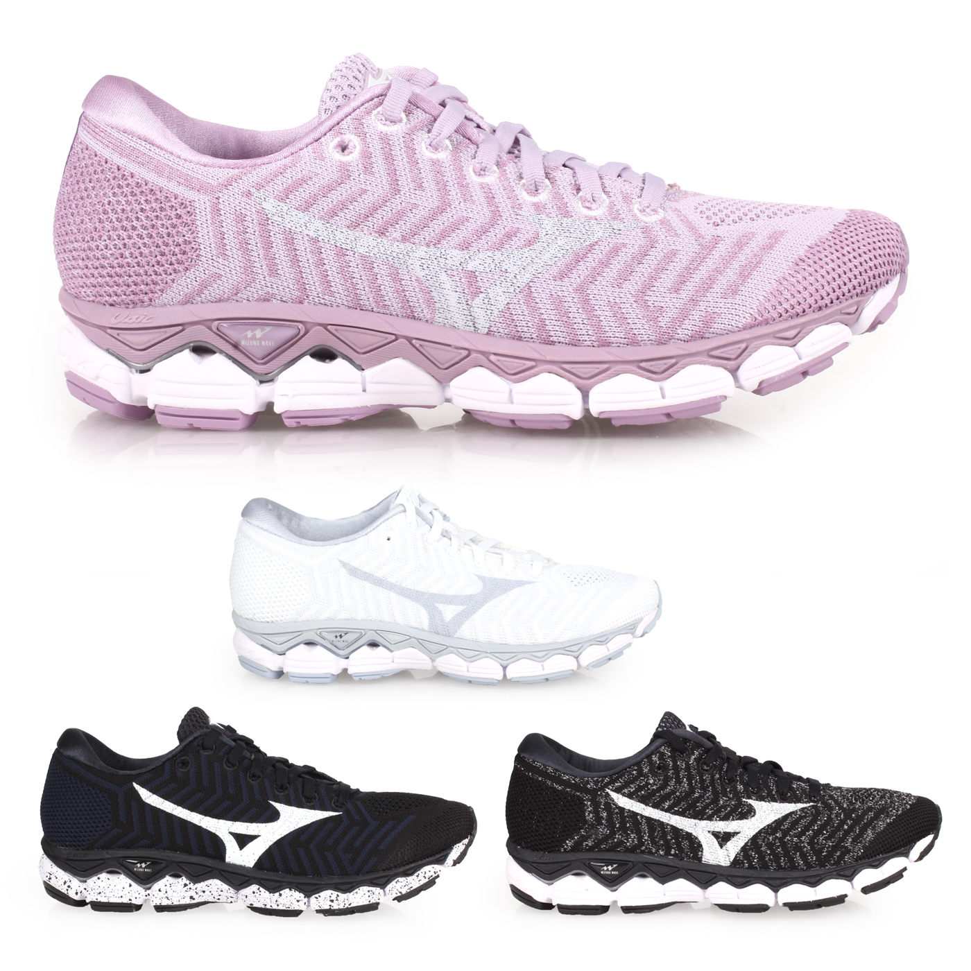 MIZUNO 女慢跑鞋  @WAVEKNIT S1@J1GD182507