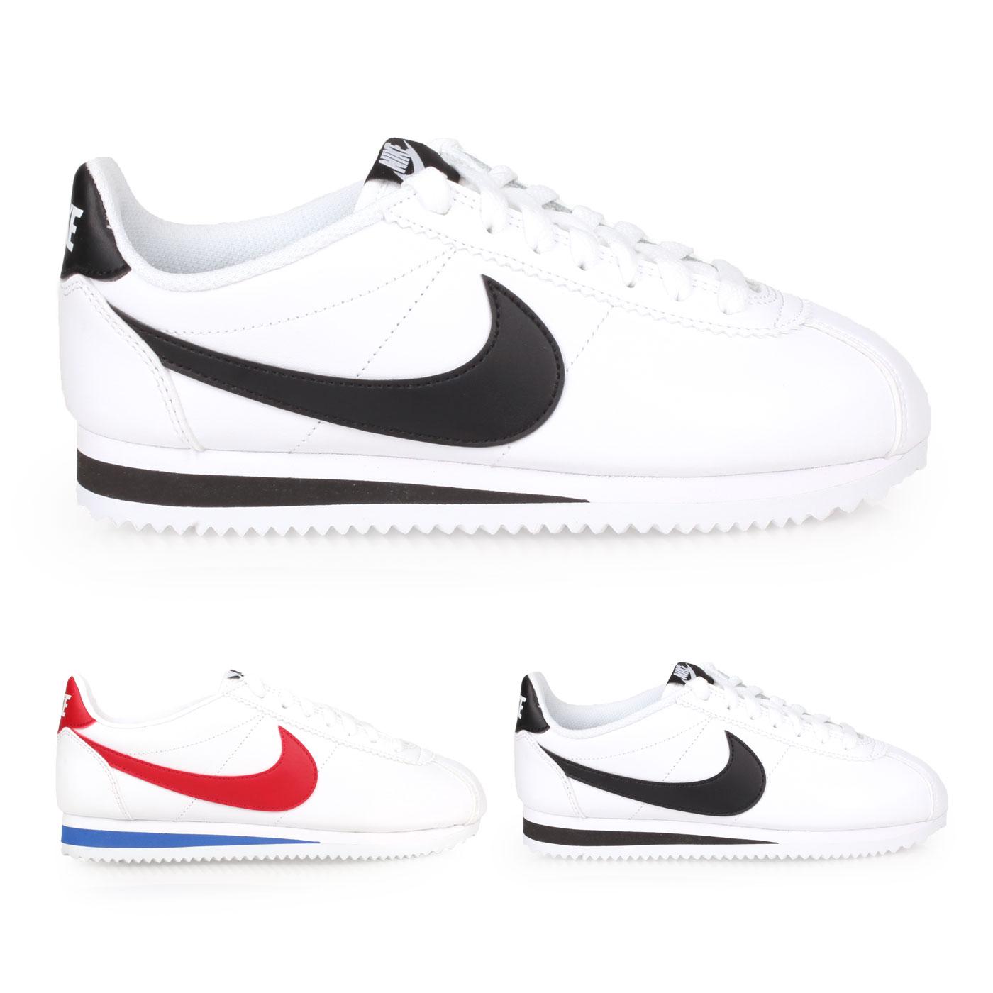 NIKE 女款休閒鞋  @WMNS CLASSIC CORTEZ LEATHER@807471101