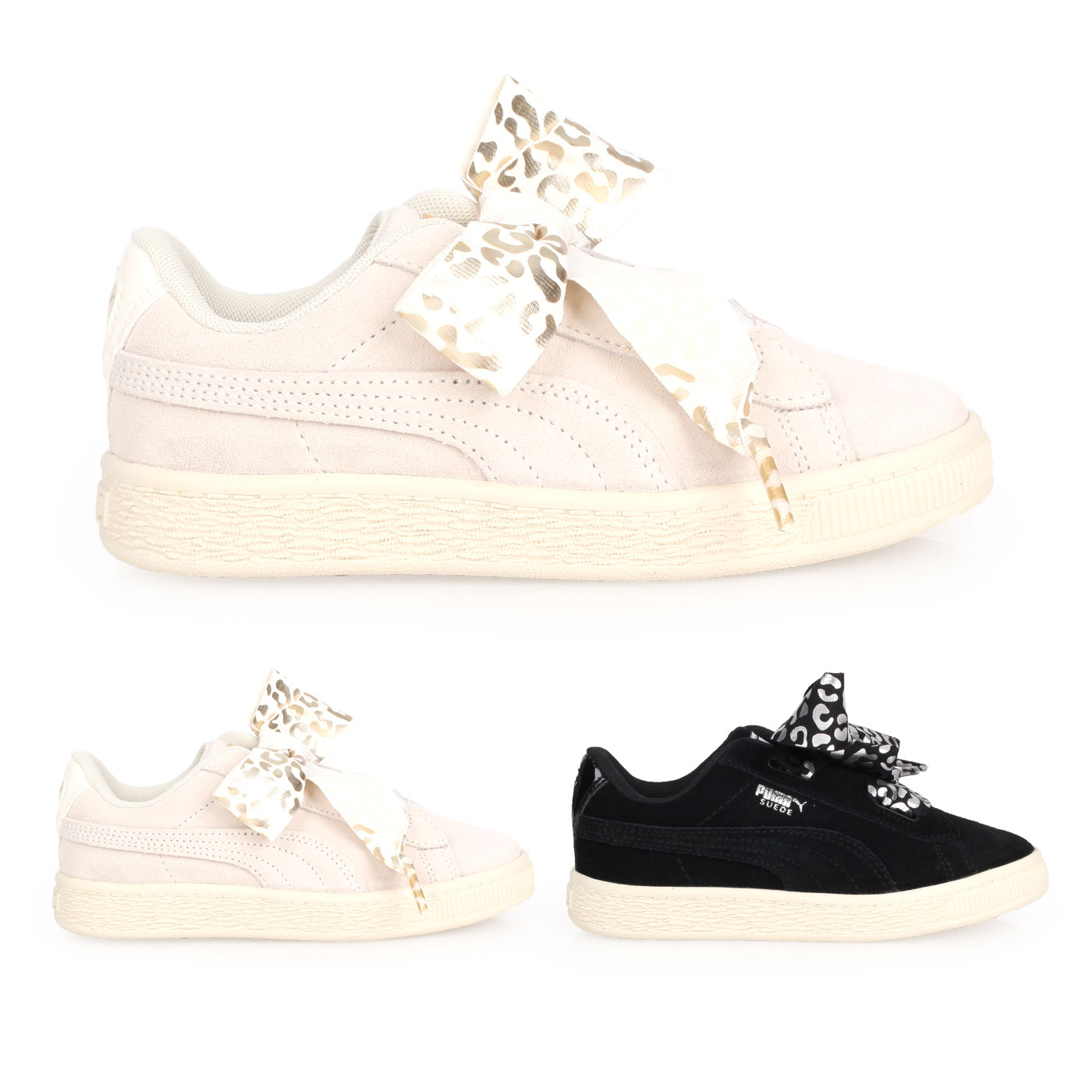 PUMA 兒童休閒運動鞋  @Suede Heart AthLuxe PS@36684501
