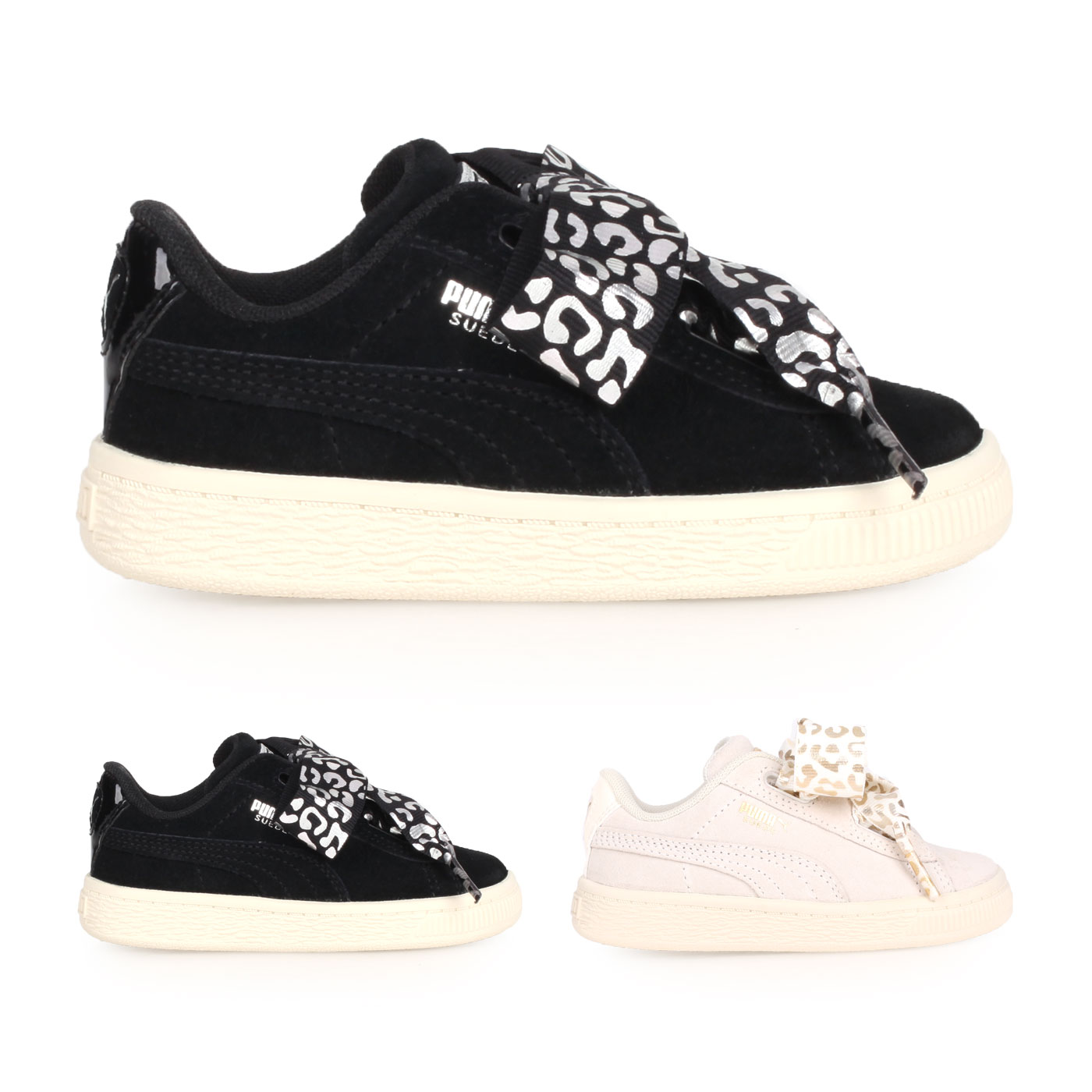 PUMA 兒童休閒運動鞋  @Suede Heart AthLuxe Inf@36684601