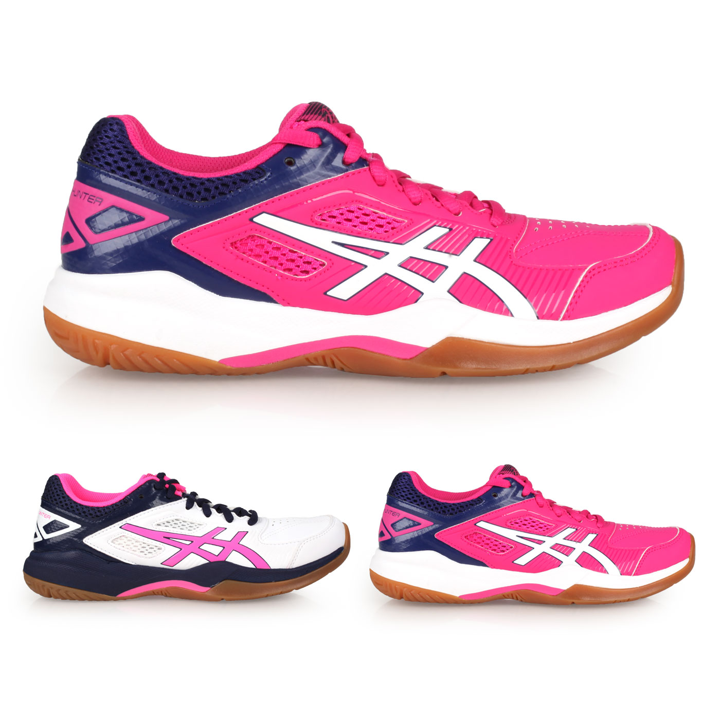 ASICS 女款羽球鞋-2E  @GEL-COURT HUNTER@1072A015-118