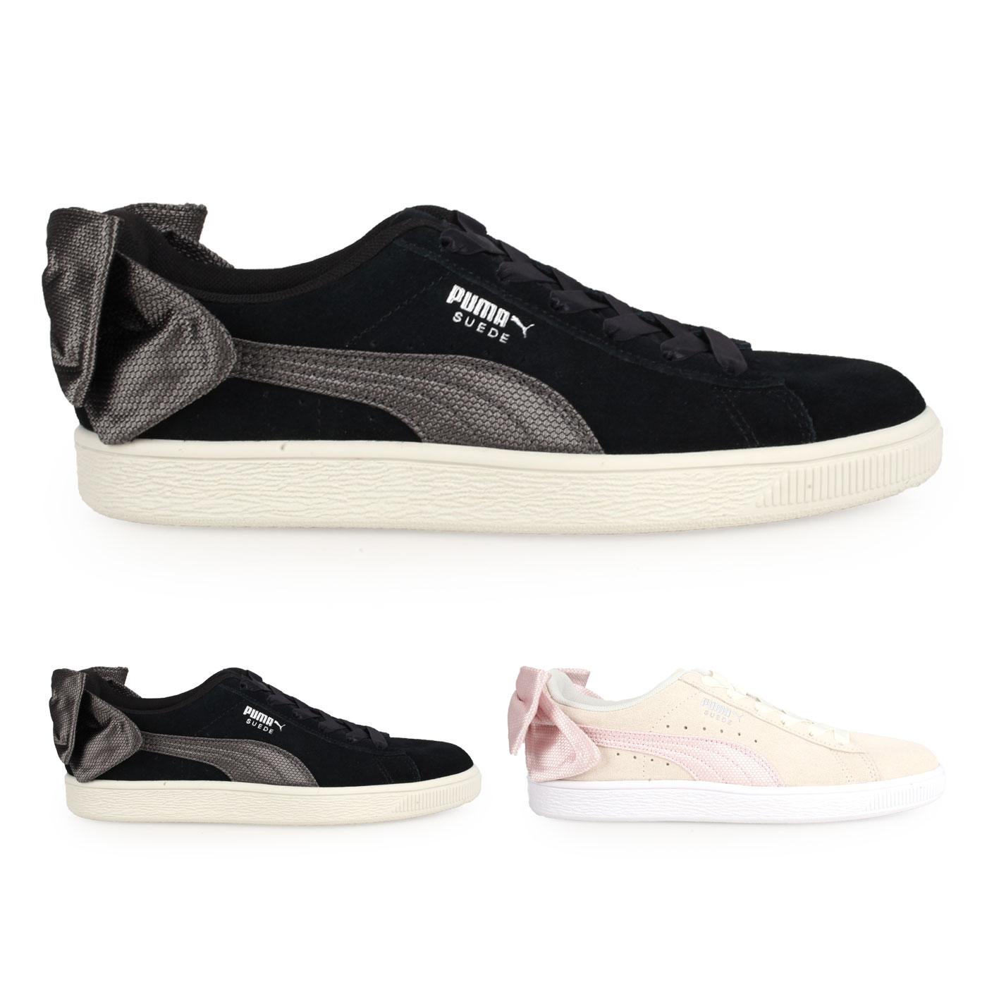 PUMA 女款休閒運動鞋(蝴蝶結款)  @Suede Bow Hexamesh Wn's@36915102