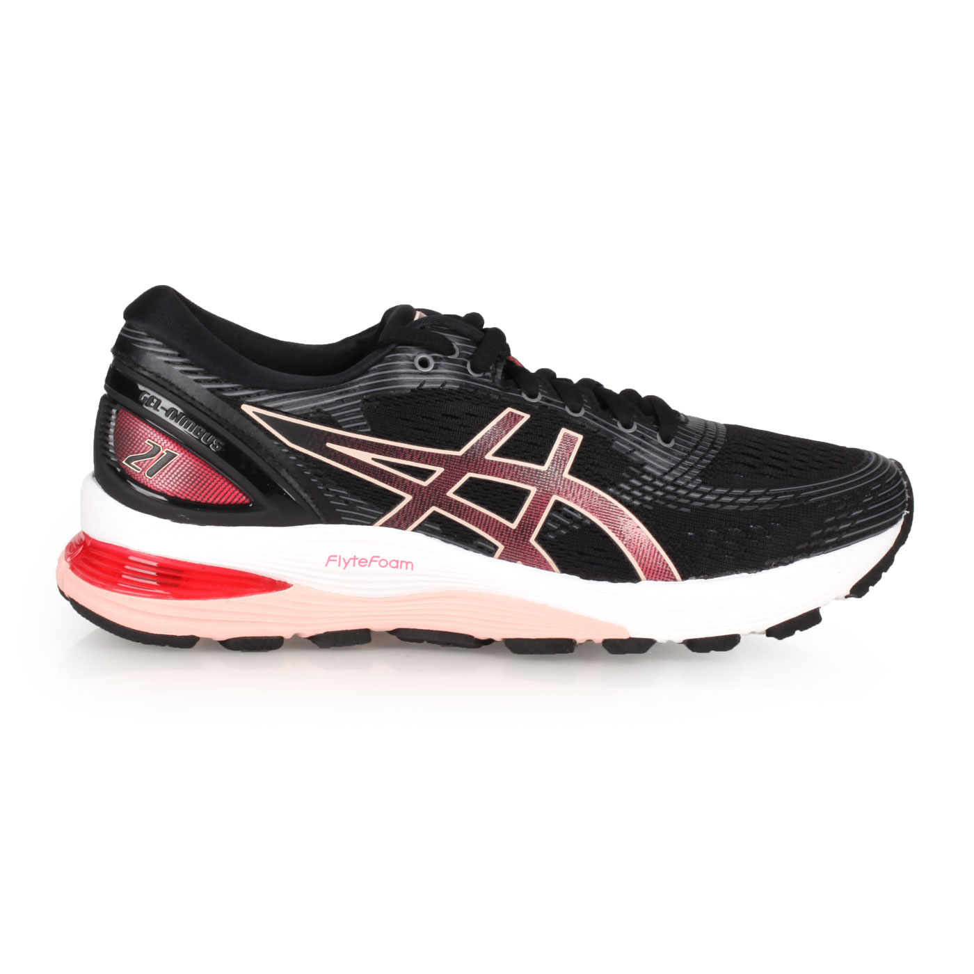 ASICS 女款慢跑鞋  @GEL-NIMBUS 21@1012A156-002