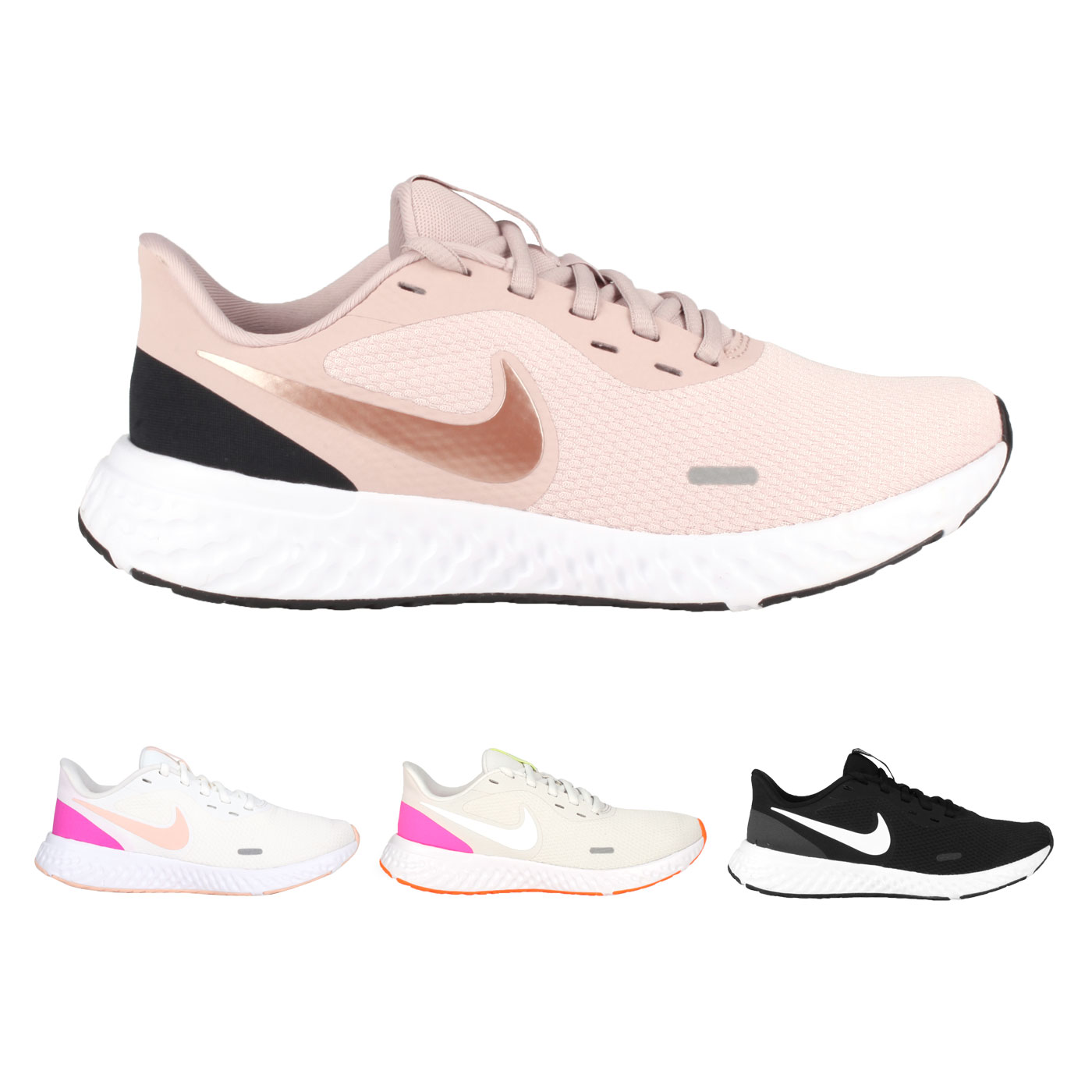 NIKE 女款慢跑鞋  @WMNS REVOLUTION 5@BQ3207002