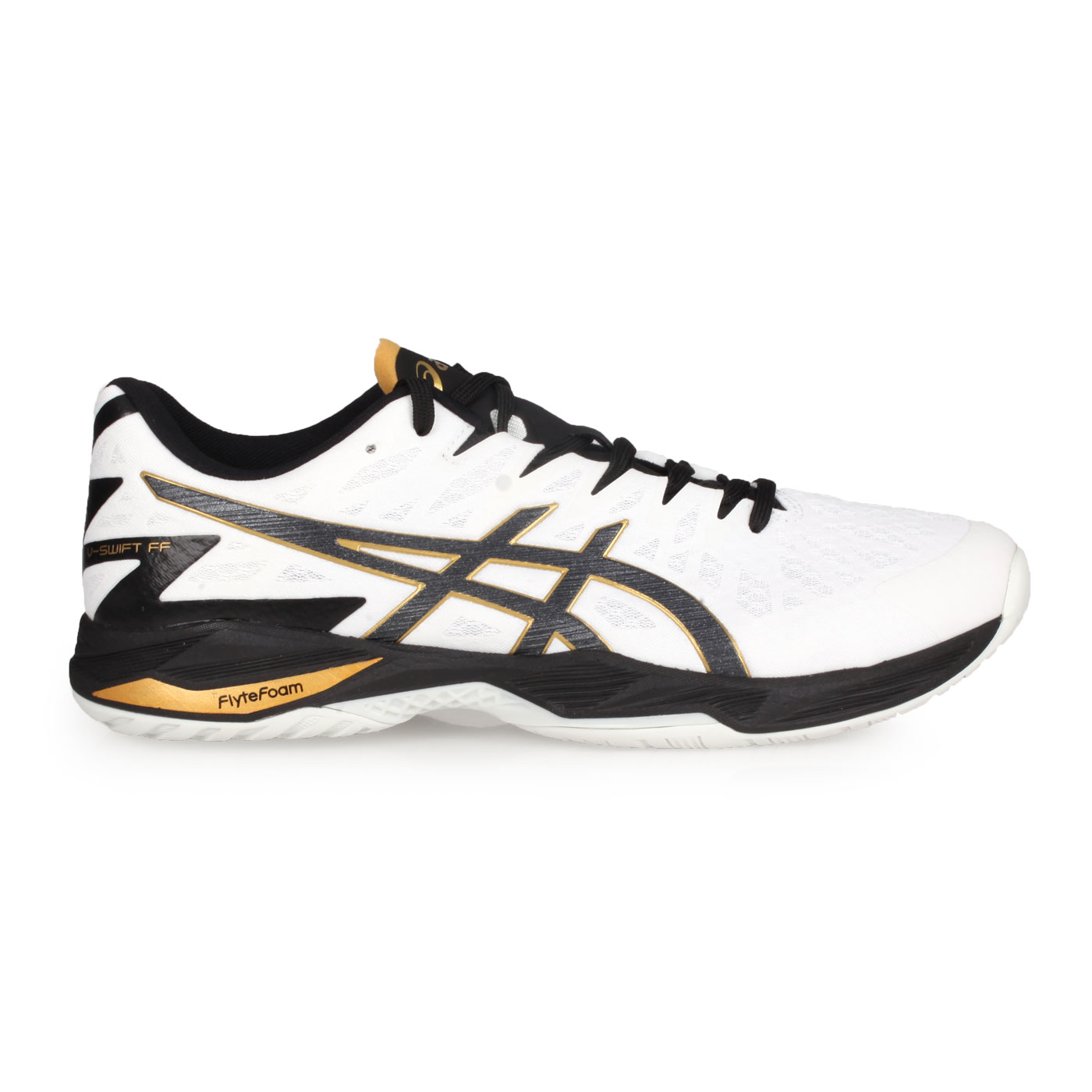 ASICS 排羽球鞋  @V-SWIFT FF 2@1053A027-100