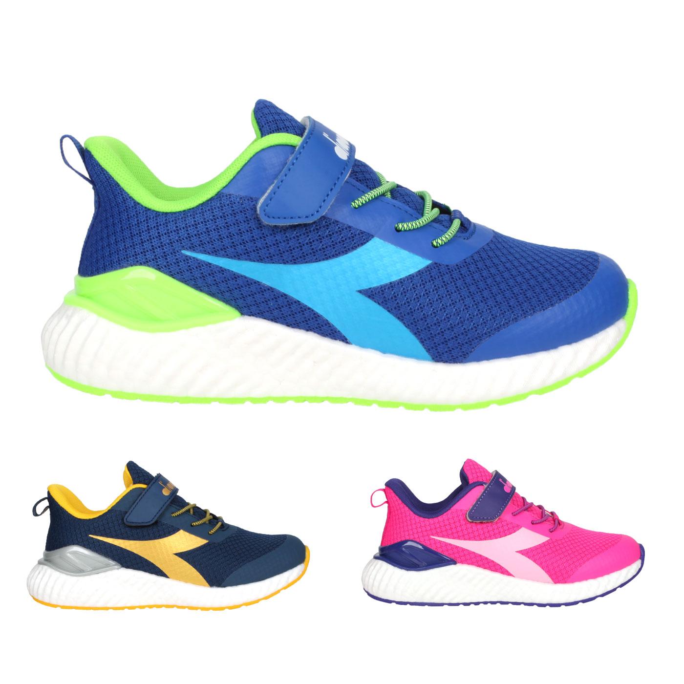 DIADORA 中童慢跑鞋-超寬楦 DA13015