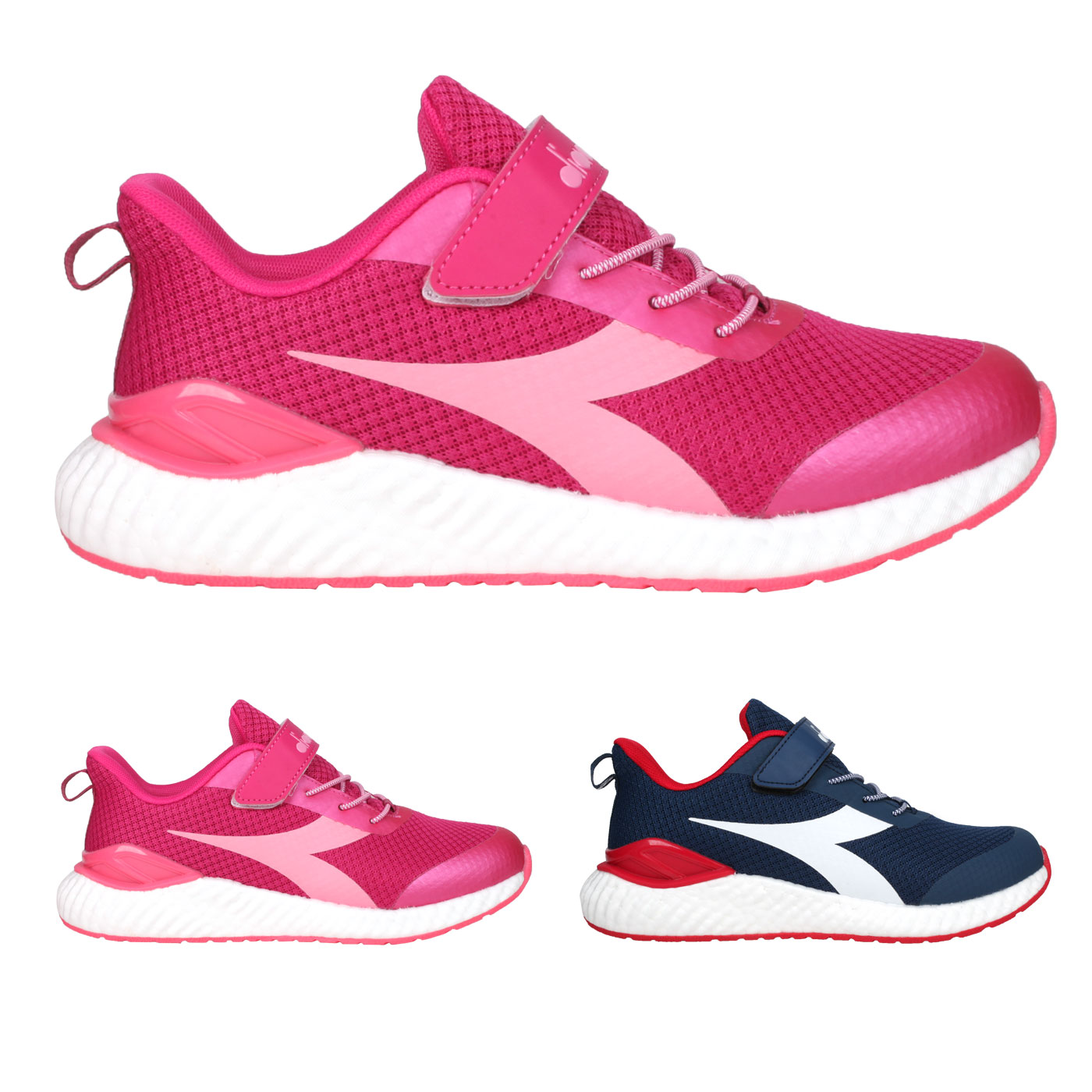 DIADORA 大童運動慢跑鞋-超寬楦 DA13018
