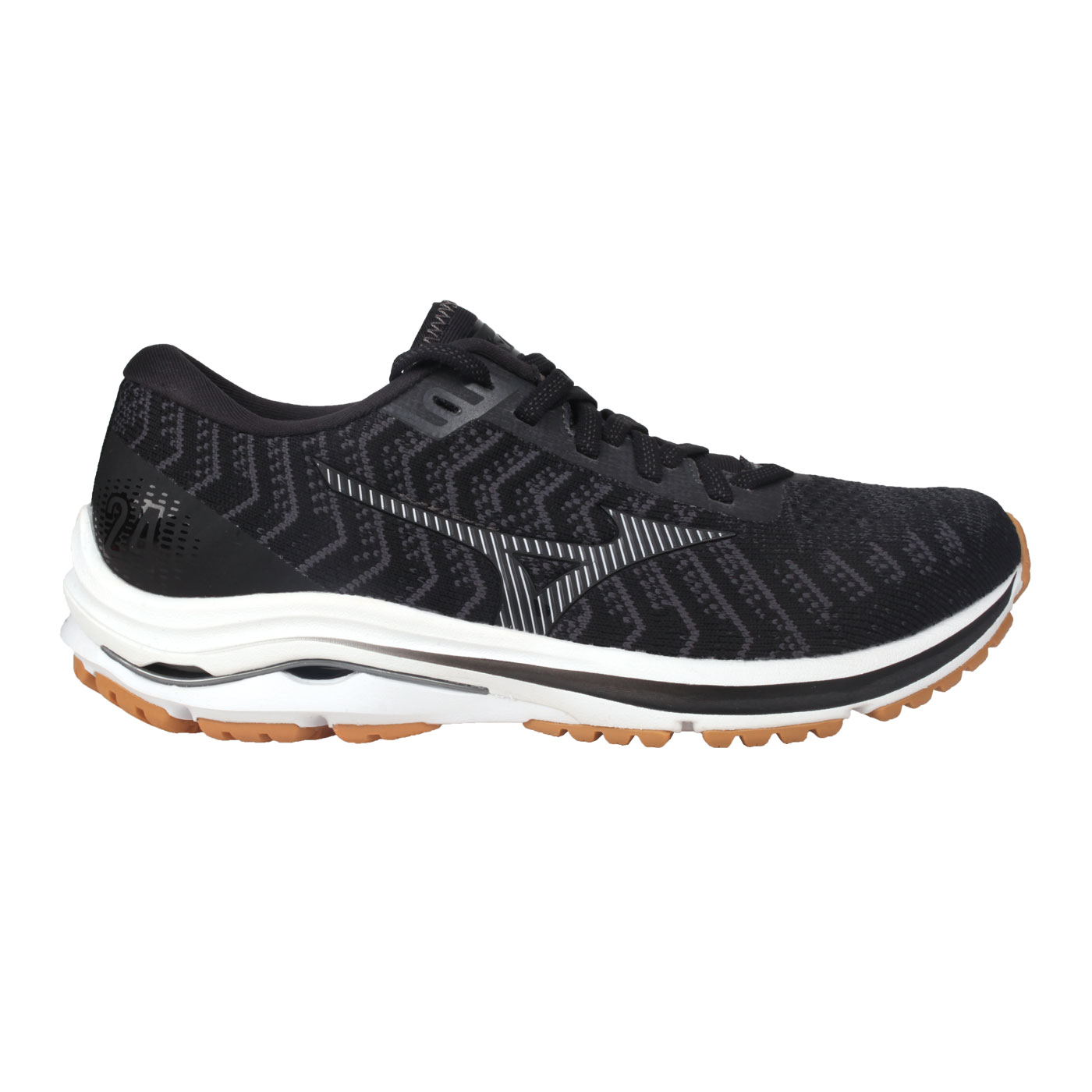 MIZUNO 女款慢跑鞋-3E  @WAVE? RIDER 24 WAVEKNIT WIDE@J1GD207740