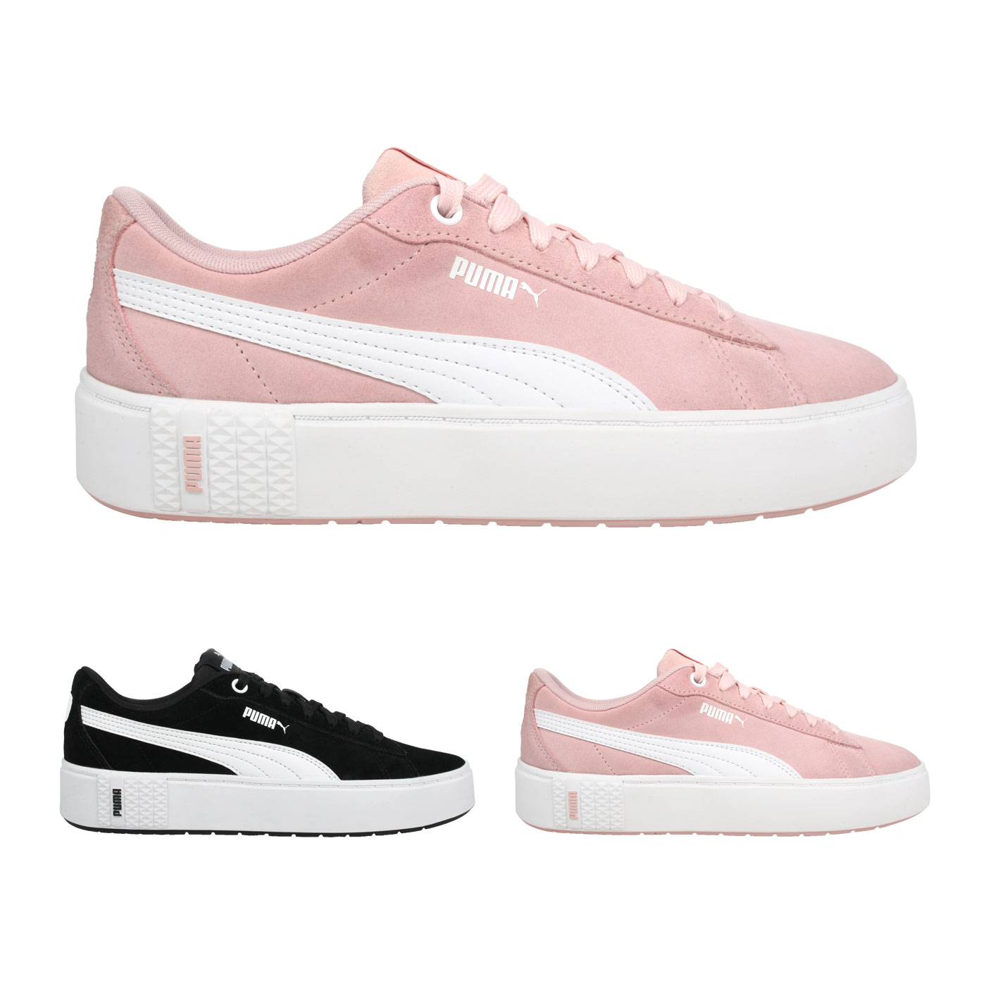 PUMA 女款休閒運動鞋  @Smash Platform v2 SD@37303704