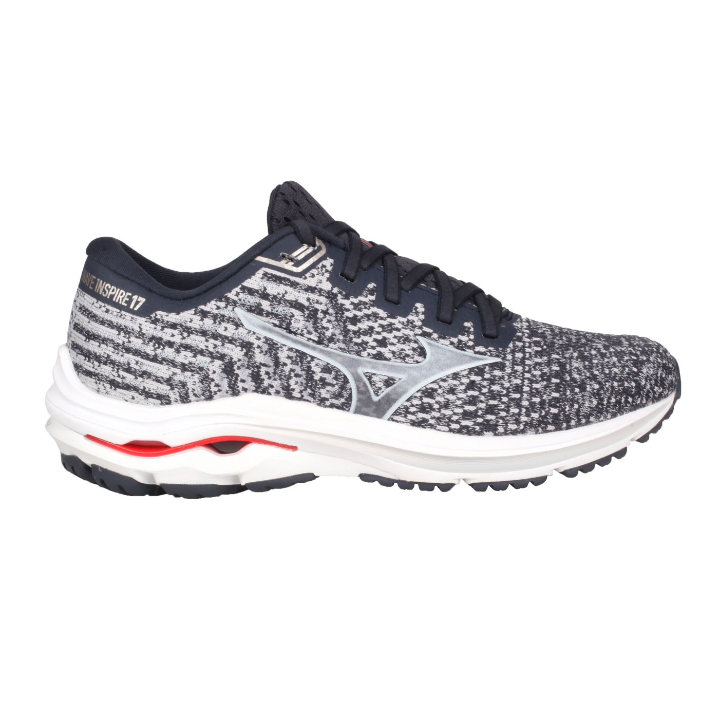 MIZUNO 女款慢跑鞋-WIDE  @WAVE INSPIRE 17WAVEKNIT WIDE@J1GD212959