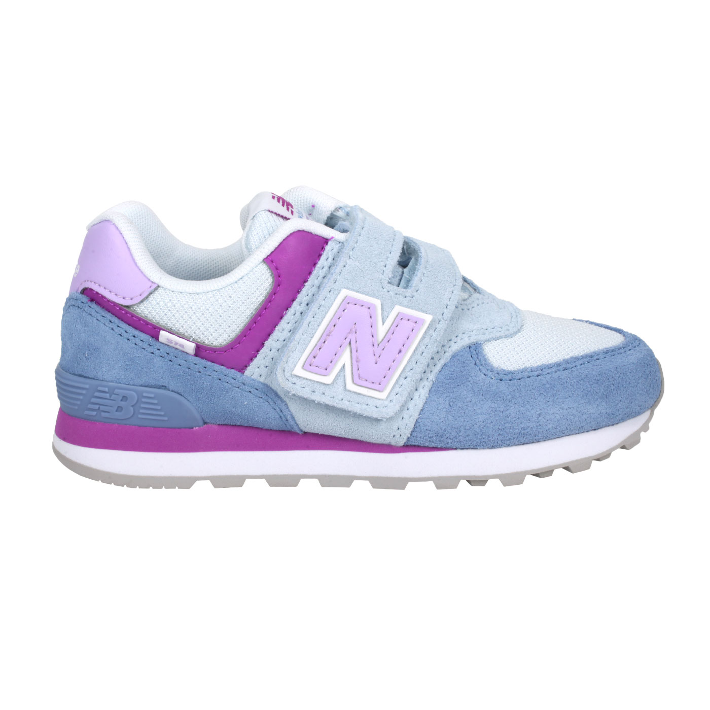 NEW BALANCE 中童休閒運動鞋-WIDE PV574SL2