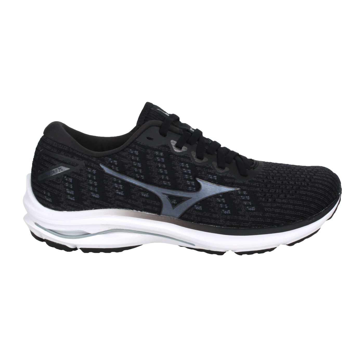 MIZUNO 男款慢跑鞋  @WAVE RIDER 25 WAVEKNIT@J1GC217590