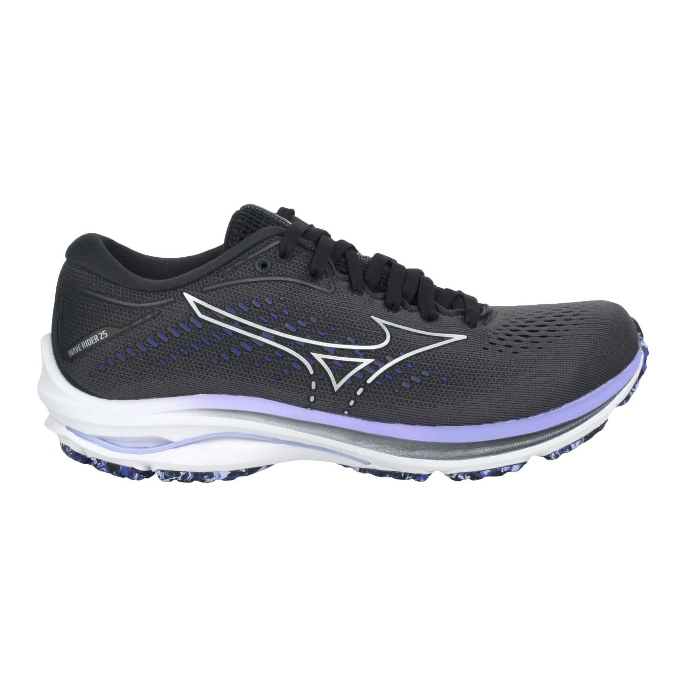MIZUNO 女款慢跑鞋-4E  @WAVE RIDER 25 WIDE@J1GD210693