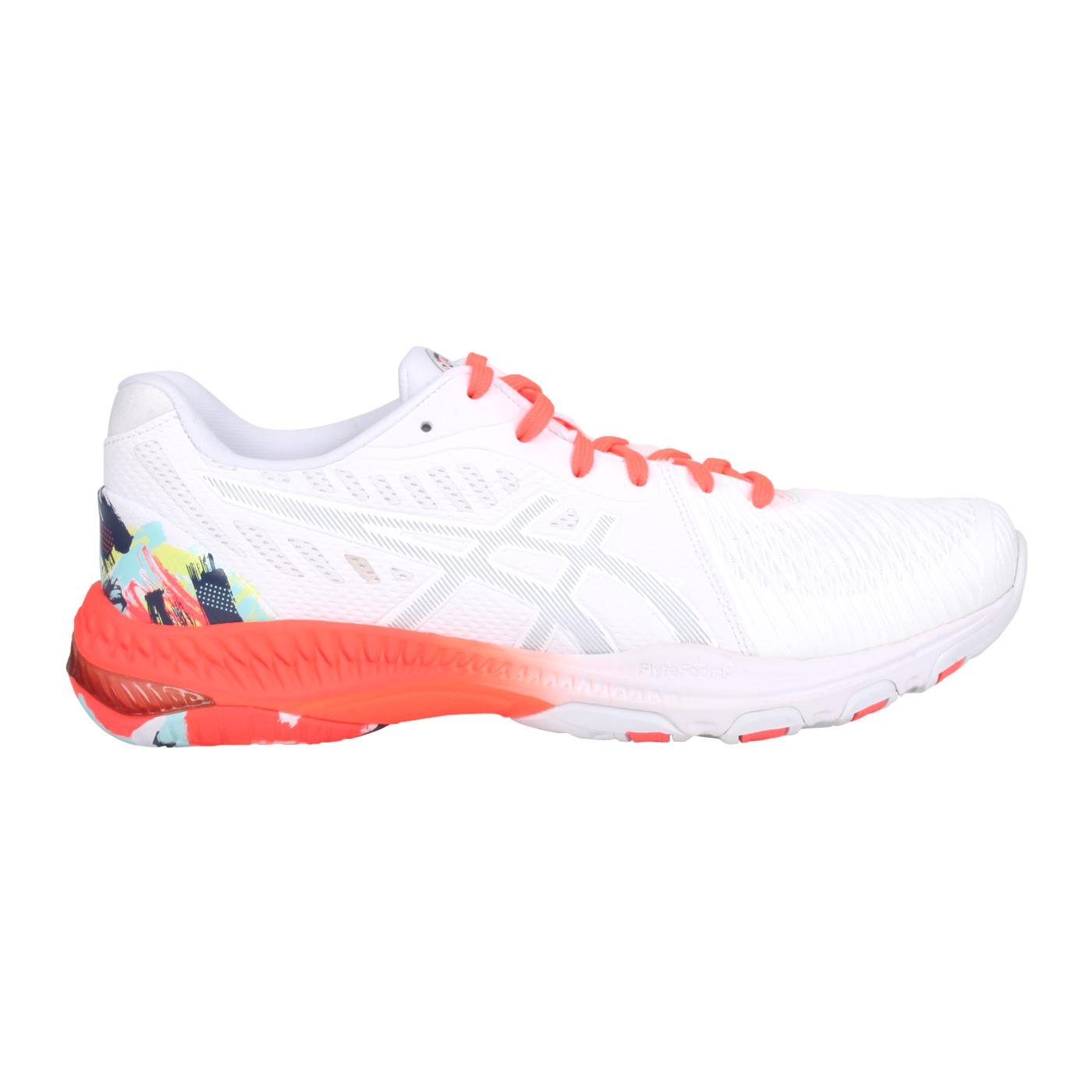 ASICS 男款排羽球鞋  @NETBURNER BALLISTIC FF 2@1053A037-960