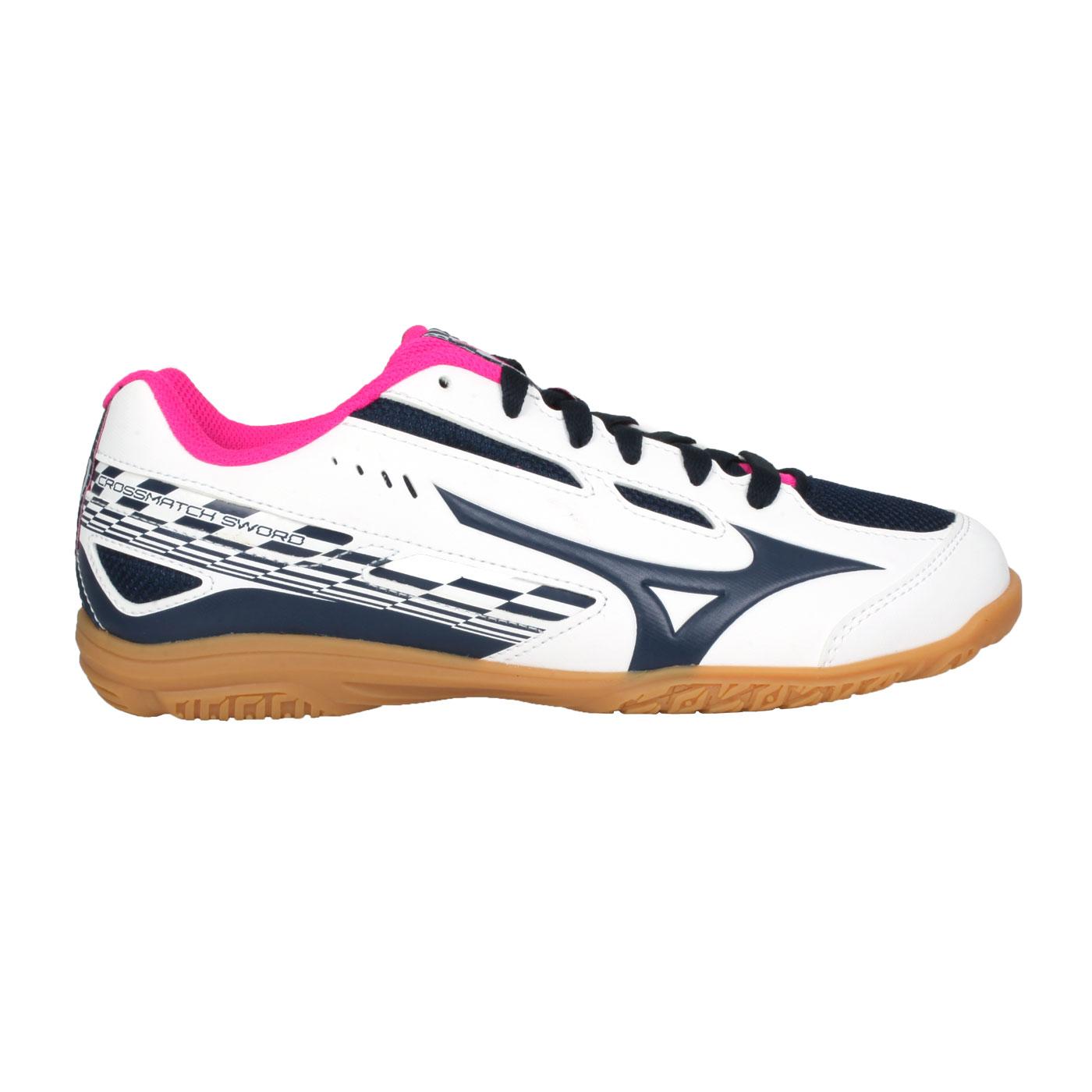 MIZUNO 女款桌球鞋   @CROSSMATCH SWORD@81GA213014
