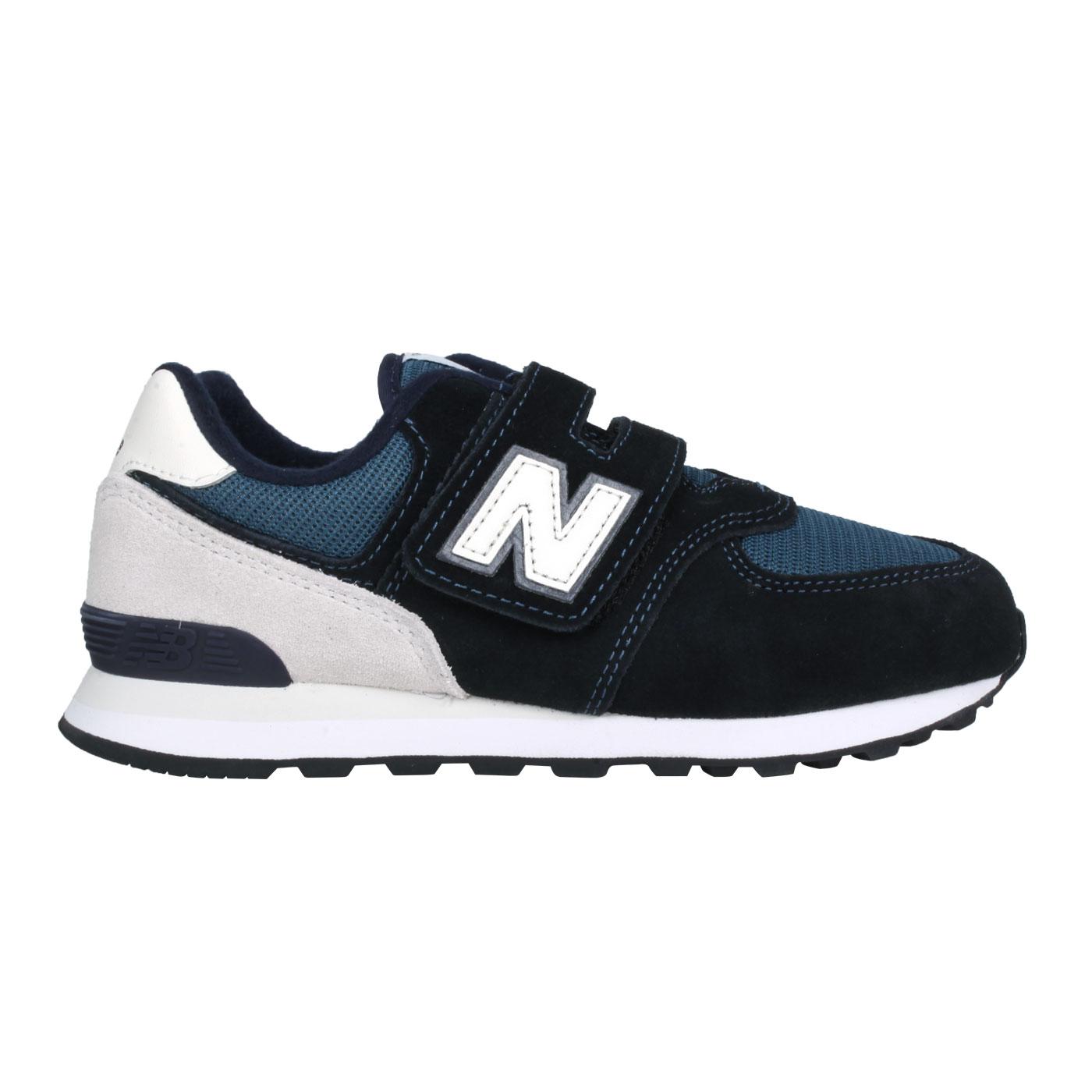 NEW BALANCE 中童休閒運動鞋-WIDE PV574BD1