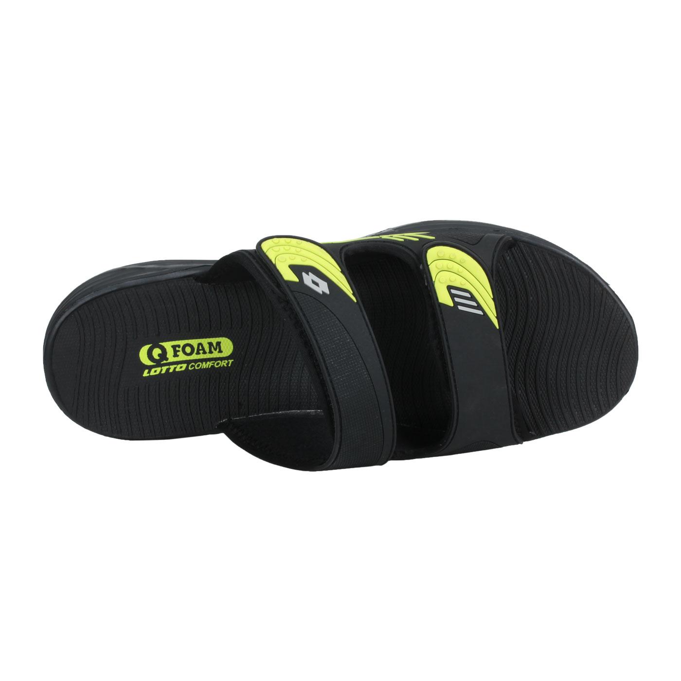LOTTO 男款激流雙密度拖鞋 LT1AMS3190