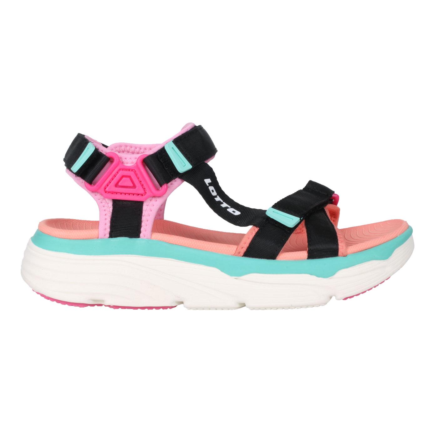 LOTTO 女款美型厚底涼鞋 LT1AWS3292