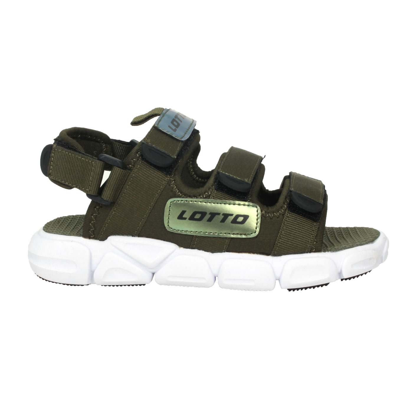 LOTTO 時尚織帶涼鞋 LT1AKS3315