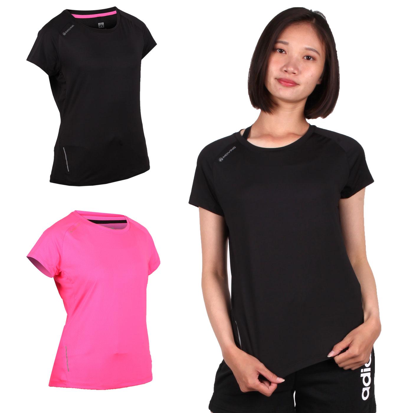 FIRESTAR 女款彈性短袖圓領T恤 DL965-10