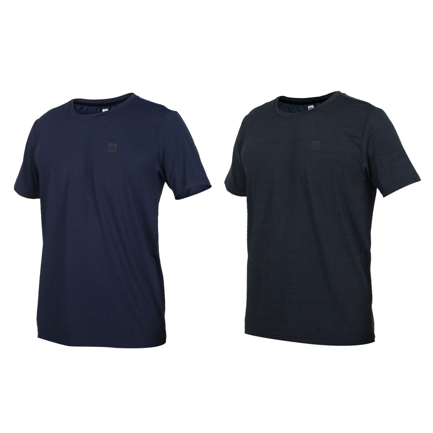 FIRESTAR 男款彈性圓領短袖T恤 D0531-93