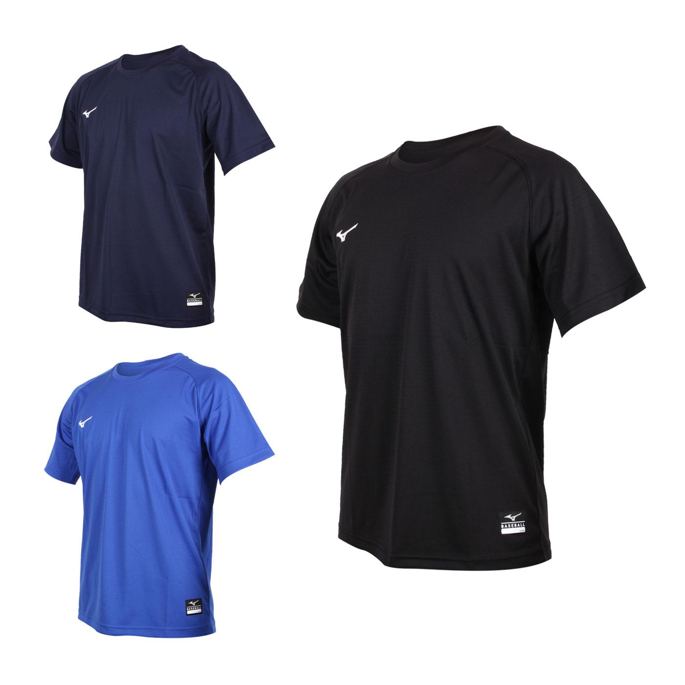 MIZUNO 男款棒球練習短袖T恤 12TC0L1109