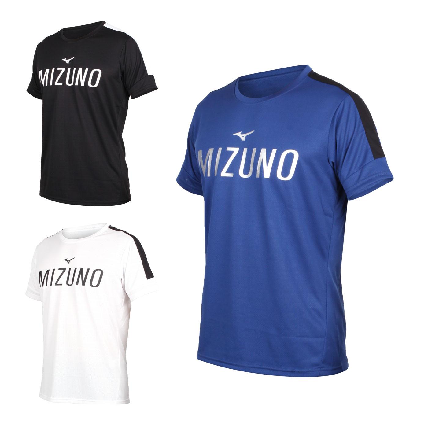 MIZUNO 男款短袖T恤 K2TA050201