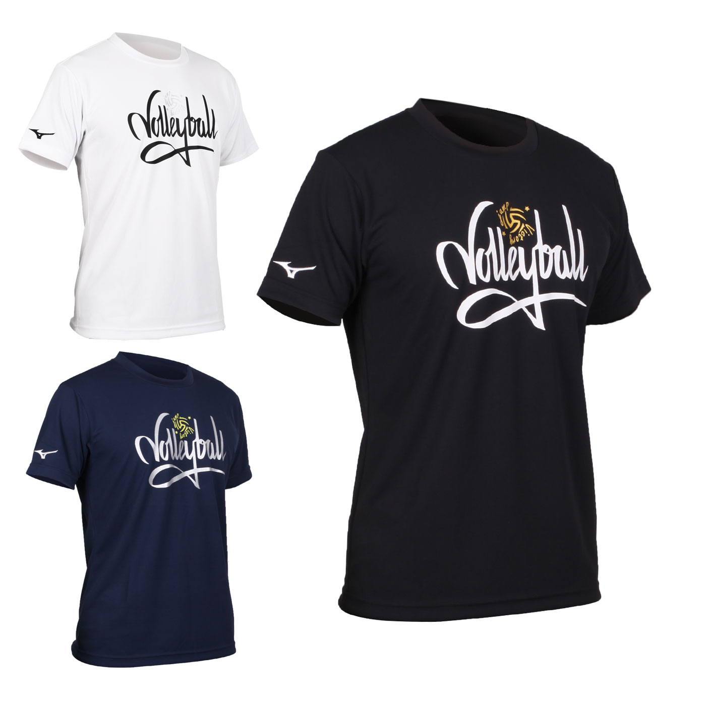 MIZUNO 男款排球短袖T恤 V2TA0G2201