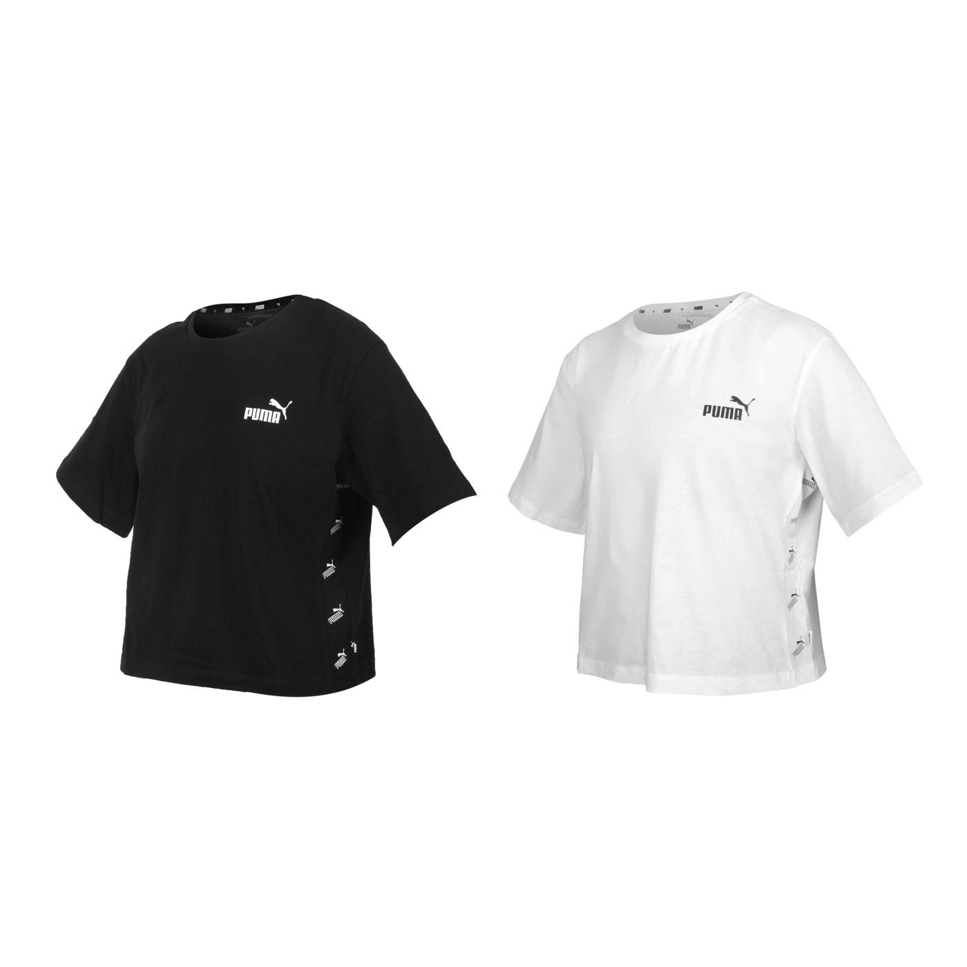 PUMA 女款基本系列短版短袖T恤 58659701