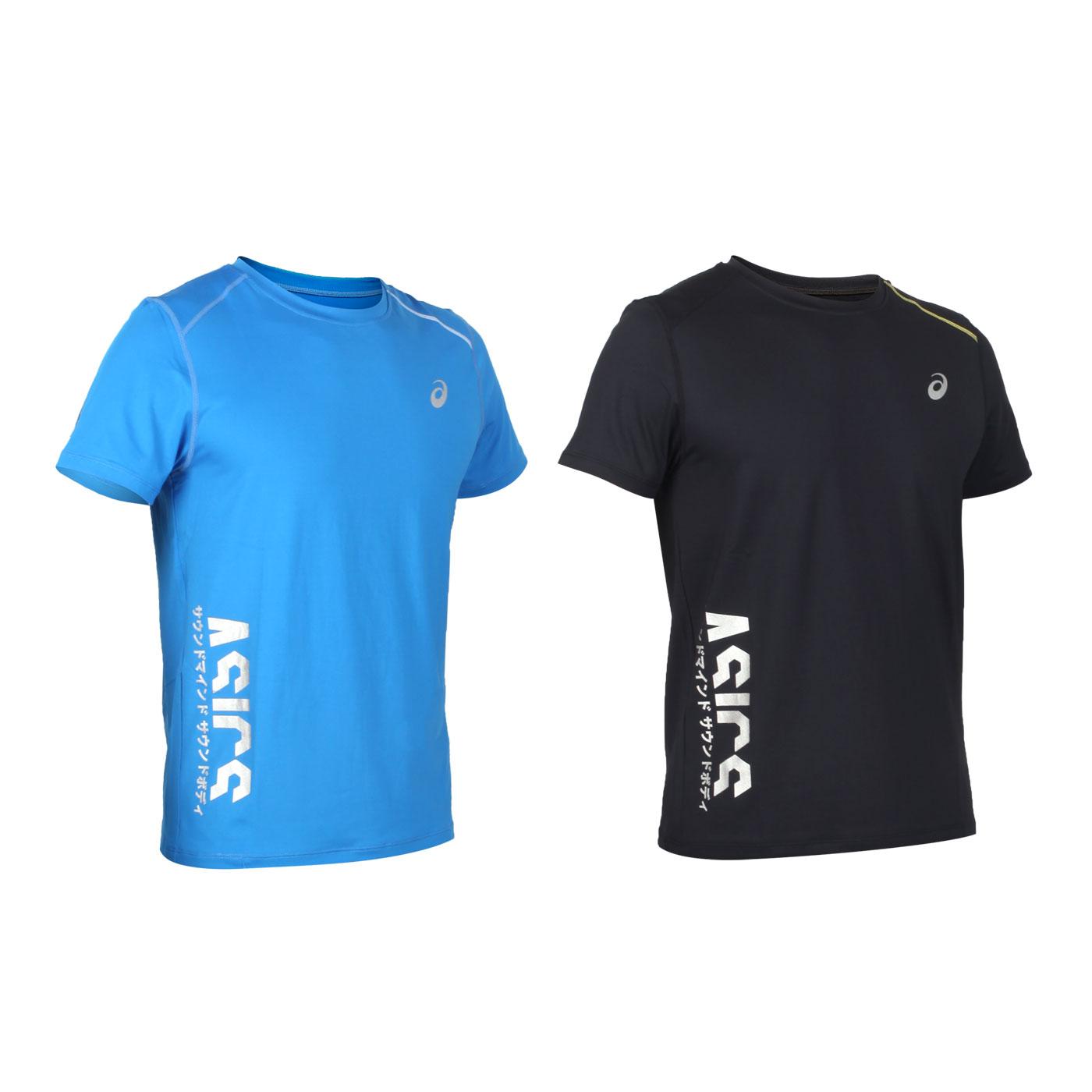 ASICS 男款短袖T恤 K32002-43