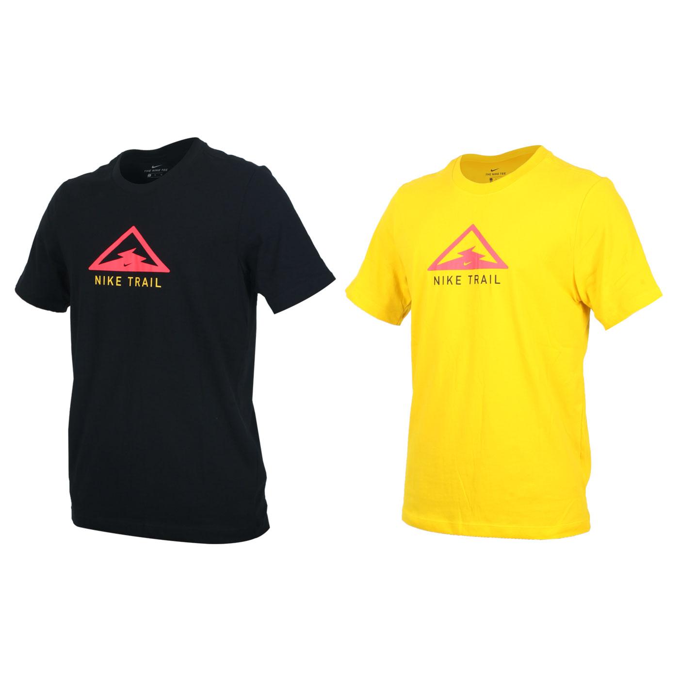 NIKE 男款越野跑步短袖T恤 CT3858-010