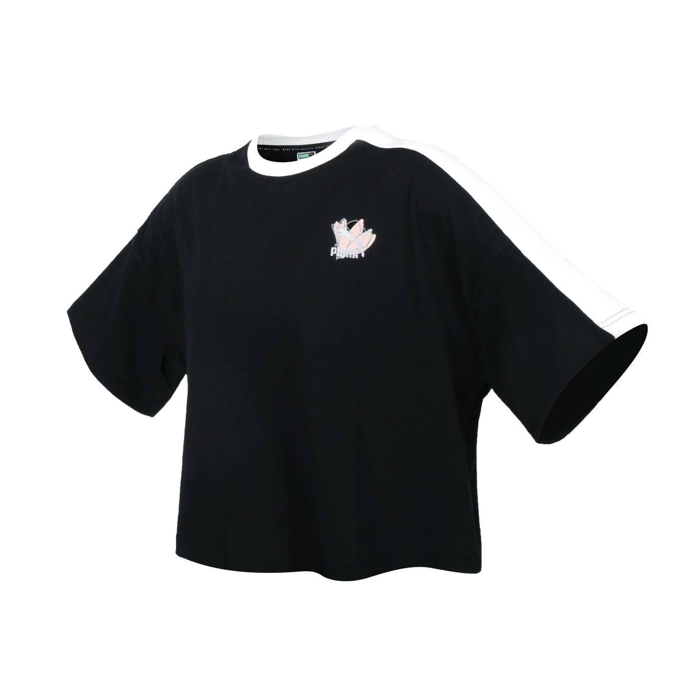 PUMA 女款Floral短袖T恤 53225801
