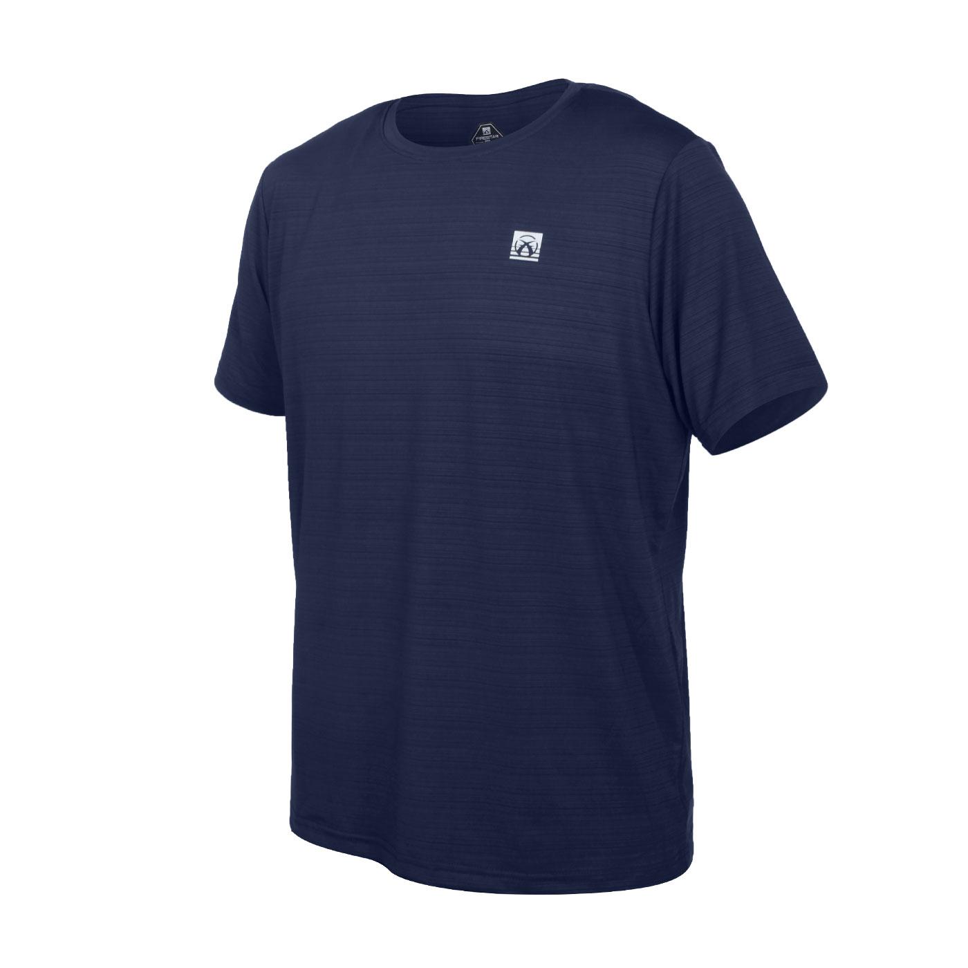 FIRESTAR 男彈性機能短袖圓領T恤 D1733-93