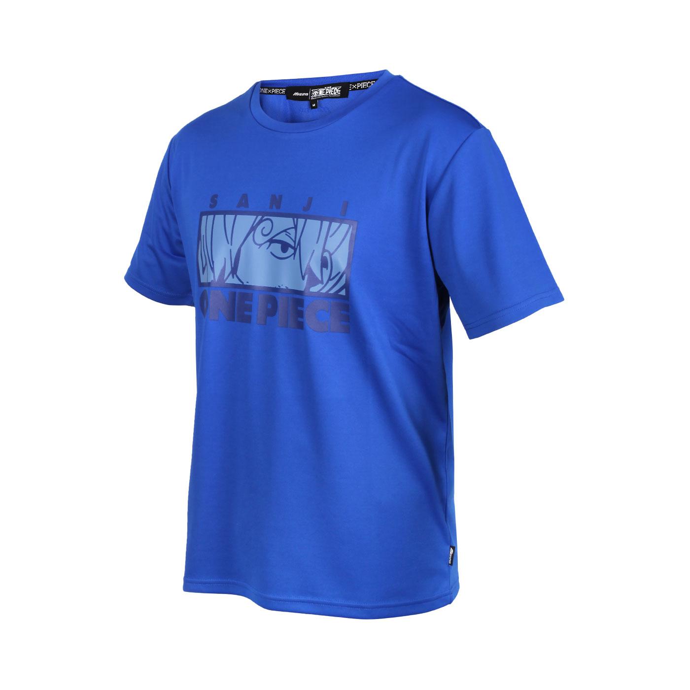 MIZUNO 特定-男款短袖T恤-香吉士款(海賊王聯名款) D2TA150222