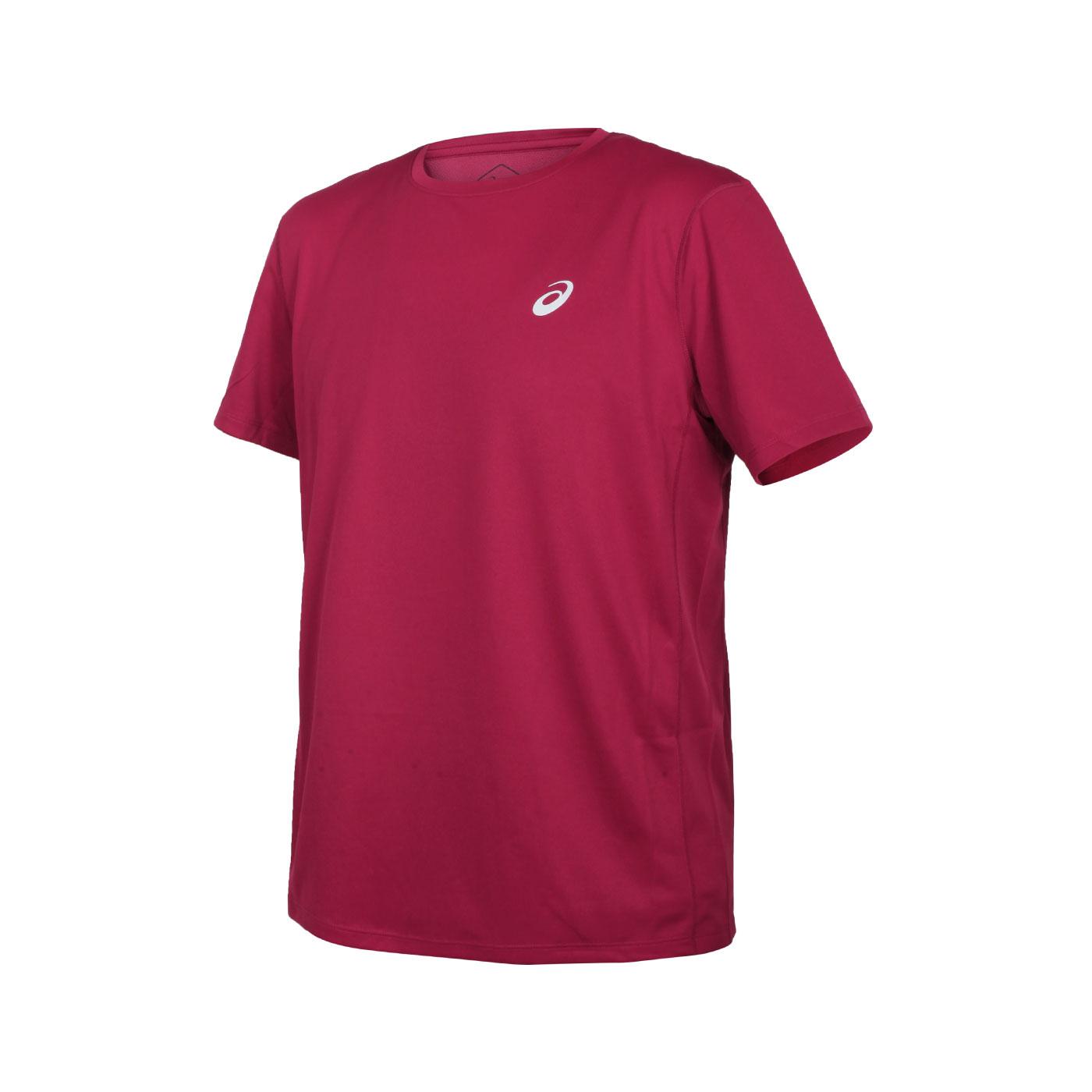 ASICS 男款片假名短袖T恤 2011A813-602
