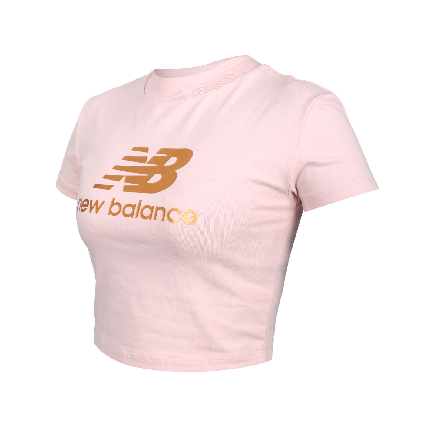 NEW BALANCE 女款短版短袖T恤 WT13503OPK