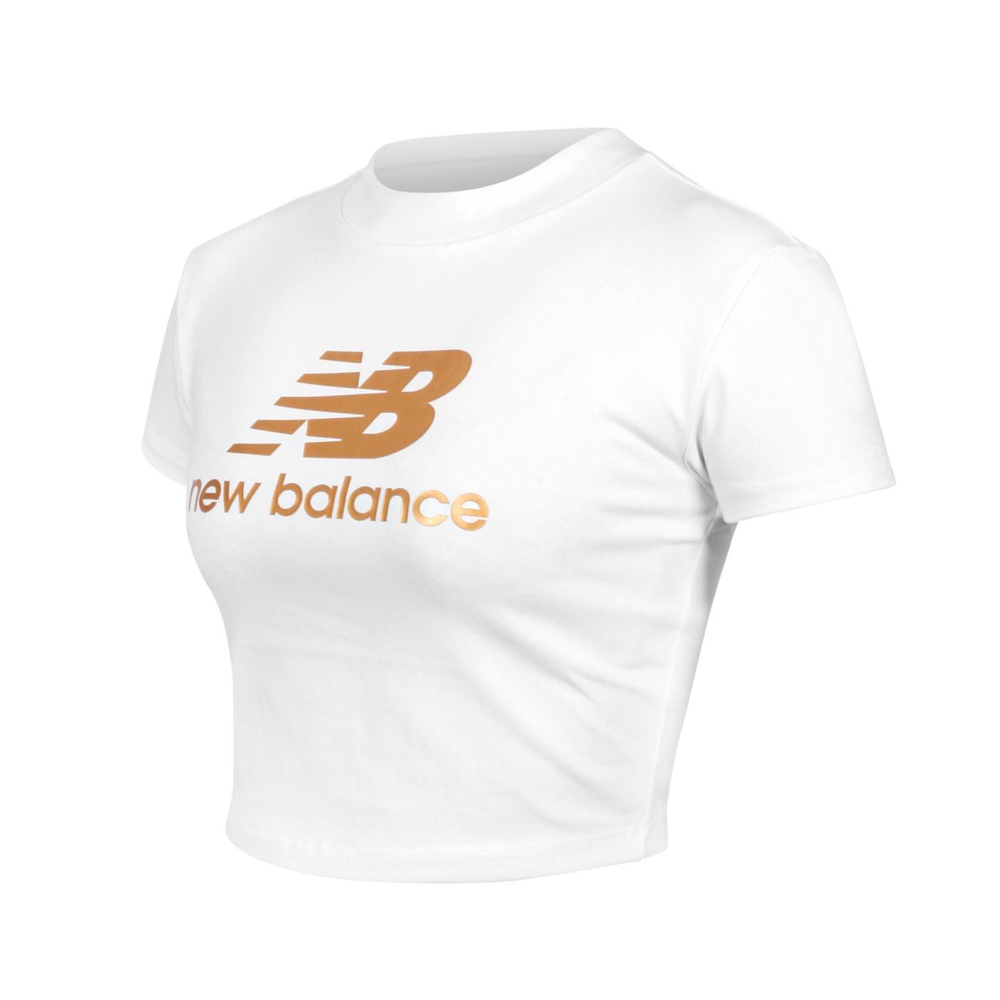 NEW BALANCE 女款短版短袖T恤 WT13503SST