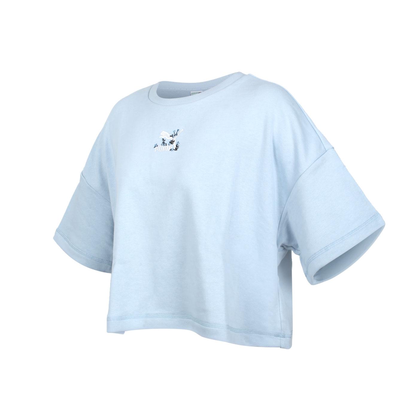 PUMA 女款流行系列Floral短袖T恤 53313161
