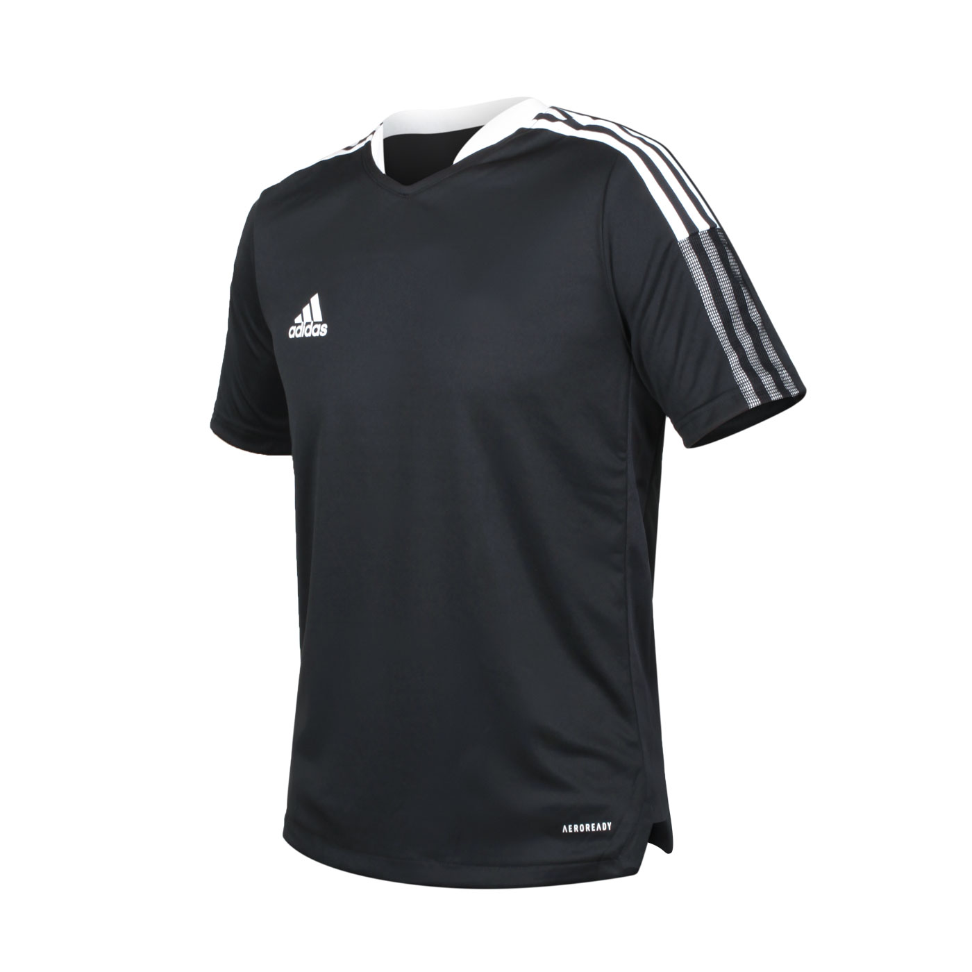 ADIDAS 大童足球短袖T恤 GM7575