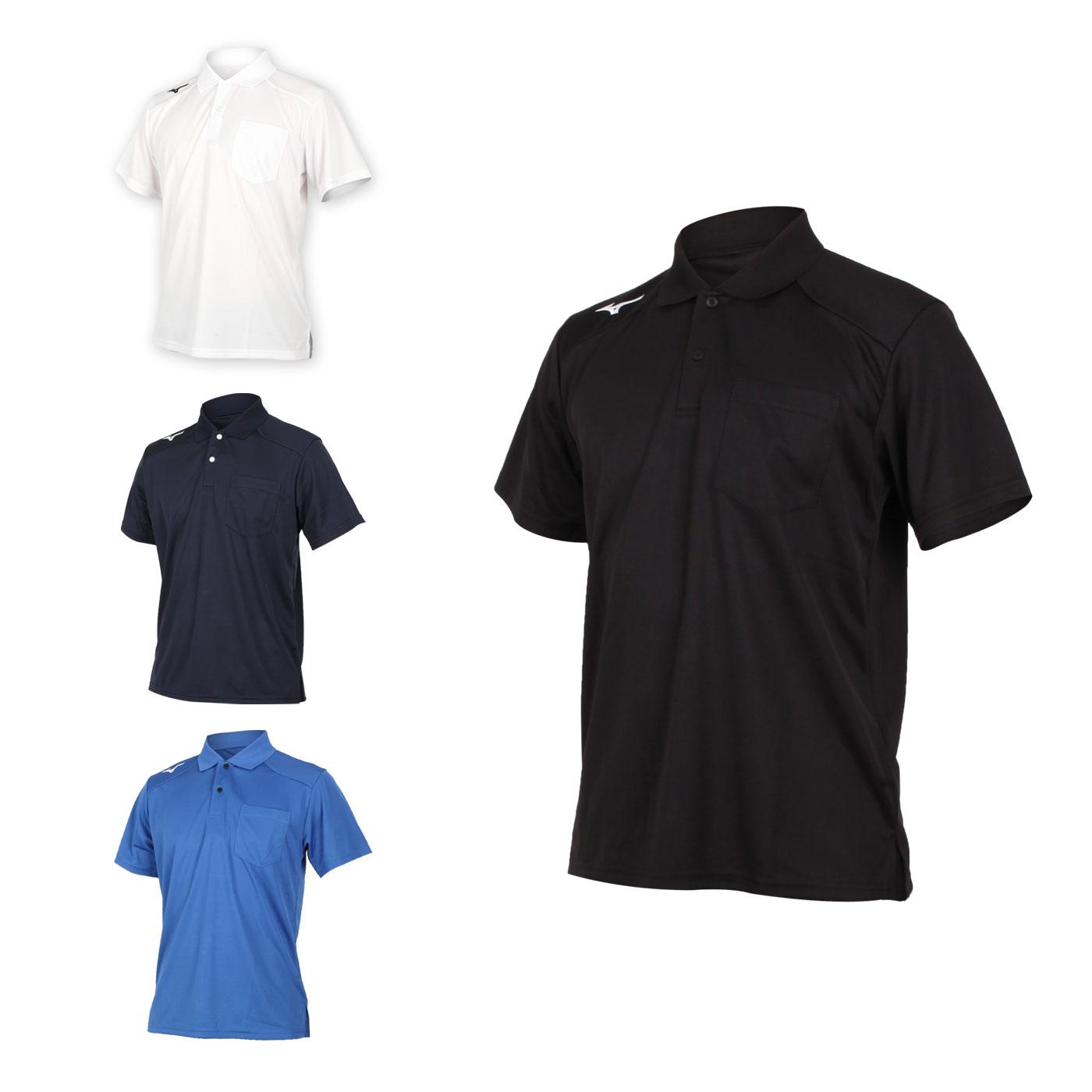 MIZUNO 男款短袖POLO衫 32TA002001