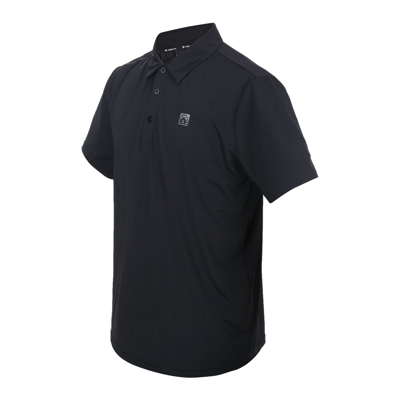 FIRESTAR 男款彈性高爾夫短袖POLO衫 D1752-10