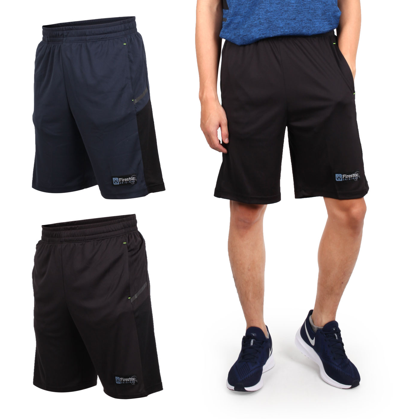 FIRESTAR 男吸濕排汗籃球短褲 B9203-10