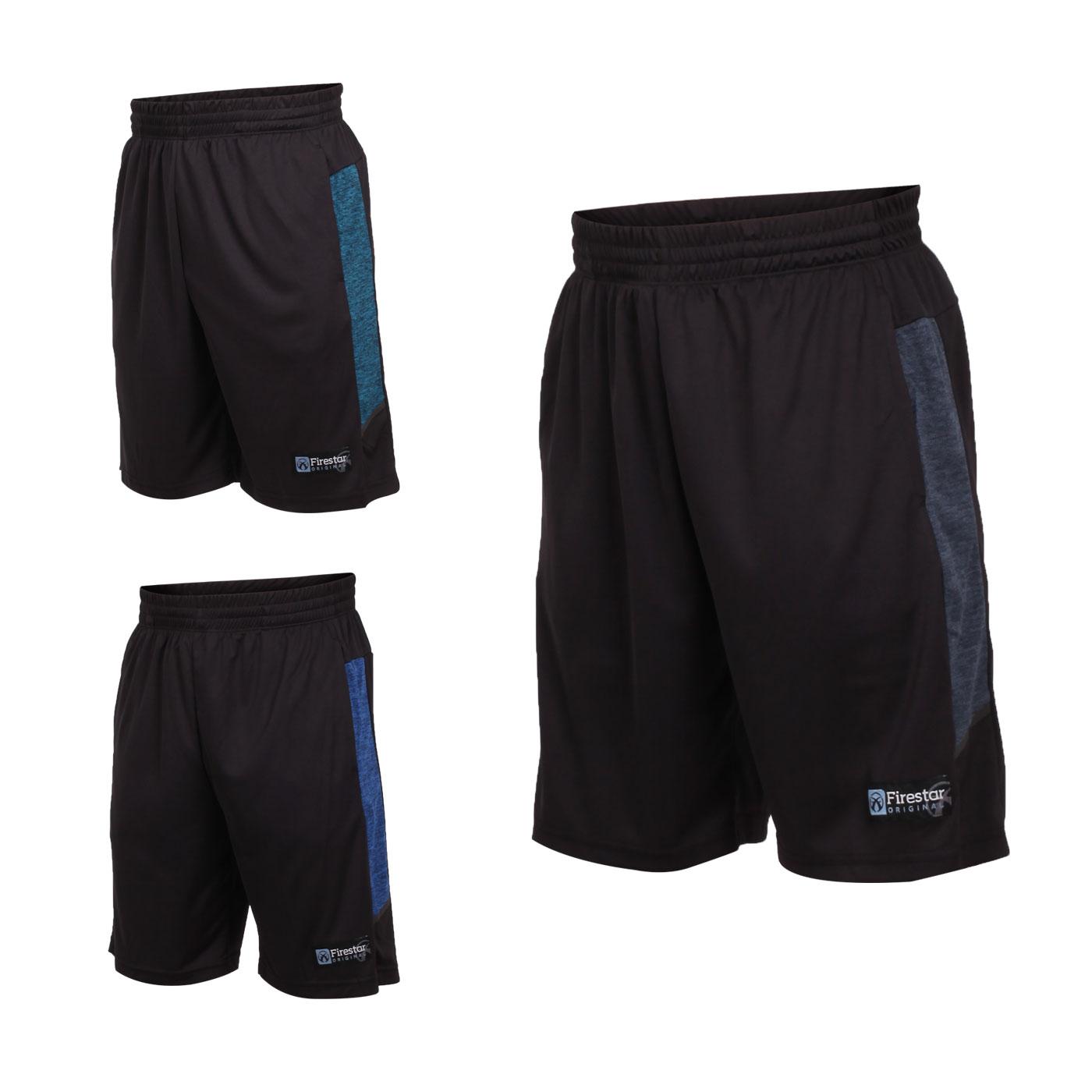 FIRESTAR 男款吸濕排汗籃球短褲 B9202-18