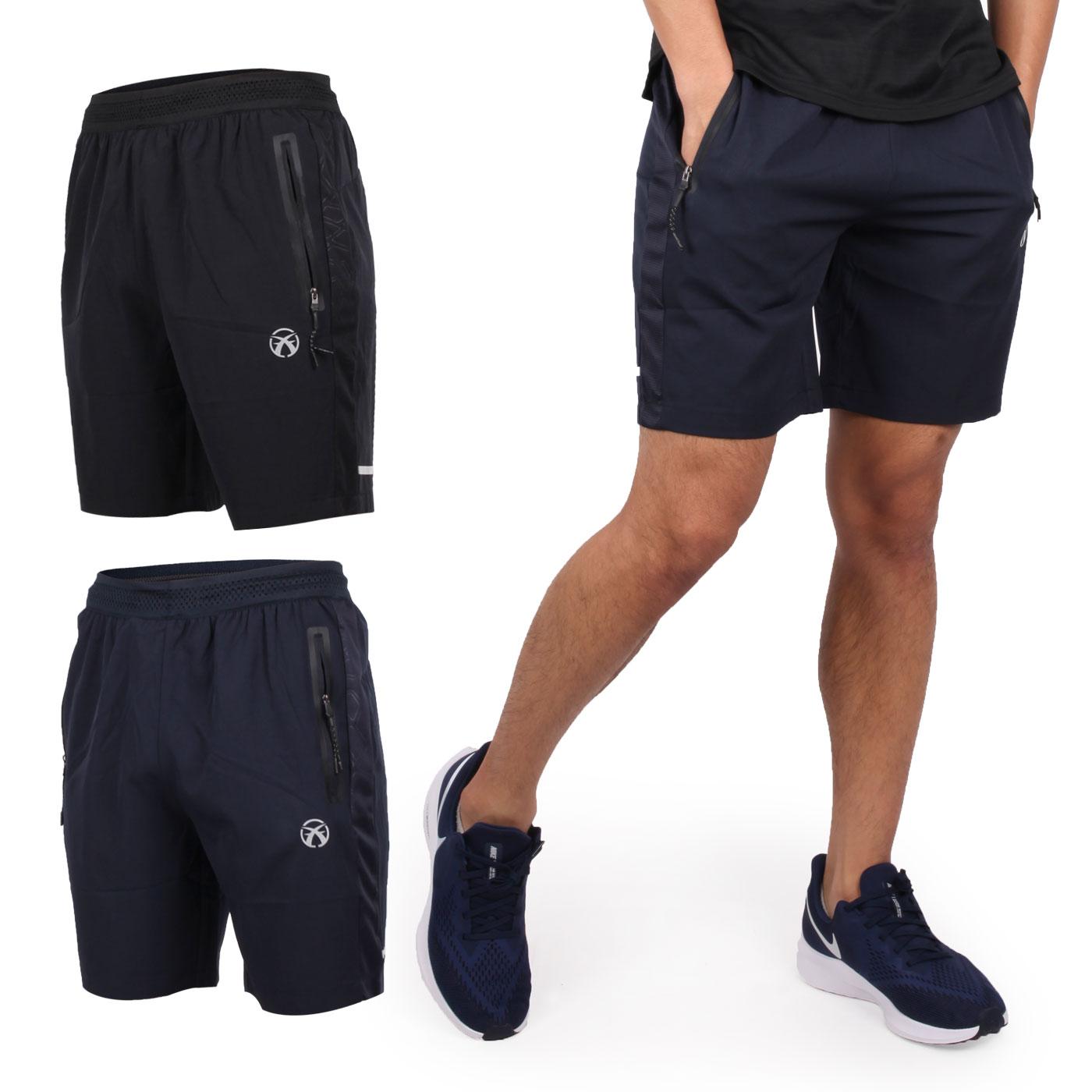 FIRESTAR 男款彈性平織短褲 C9219-10