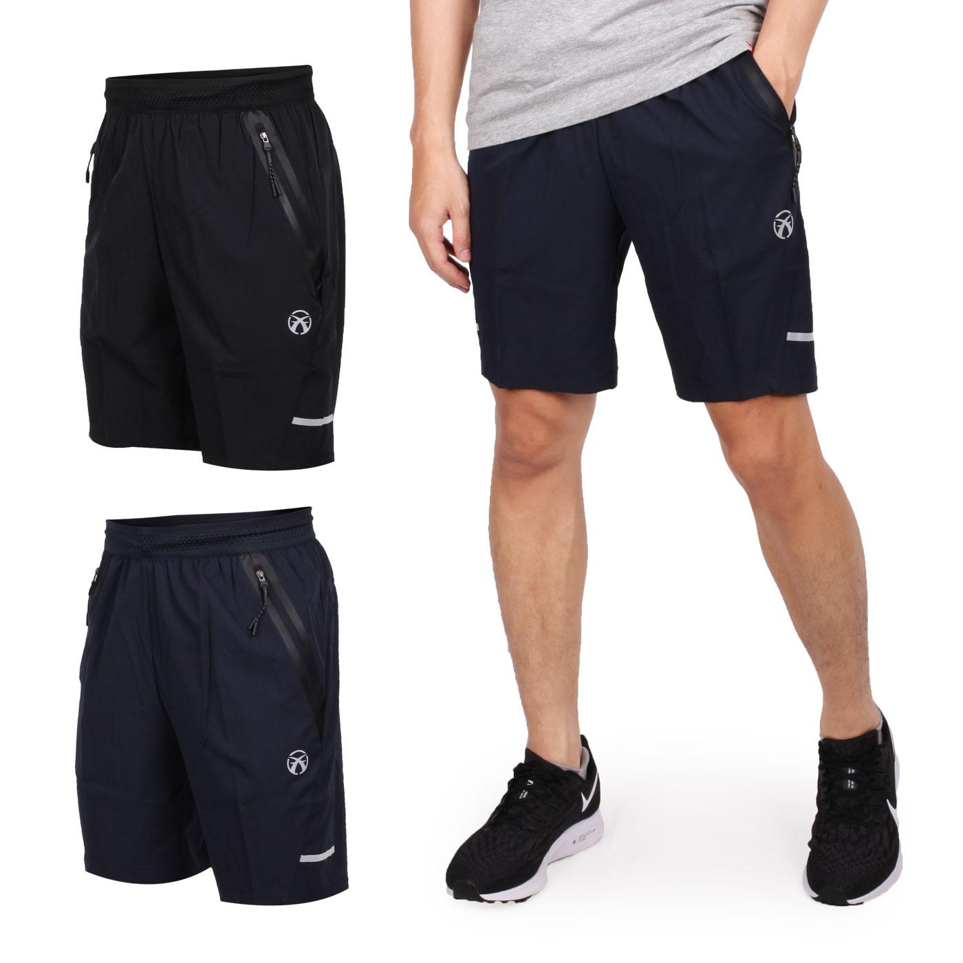 FIRESTAR 男彈性平織短褲 C9216-10