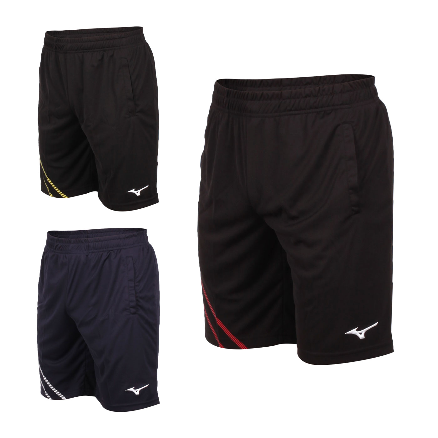 MIZUNO 男款羽球短褲 72TB0A1614