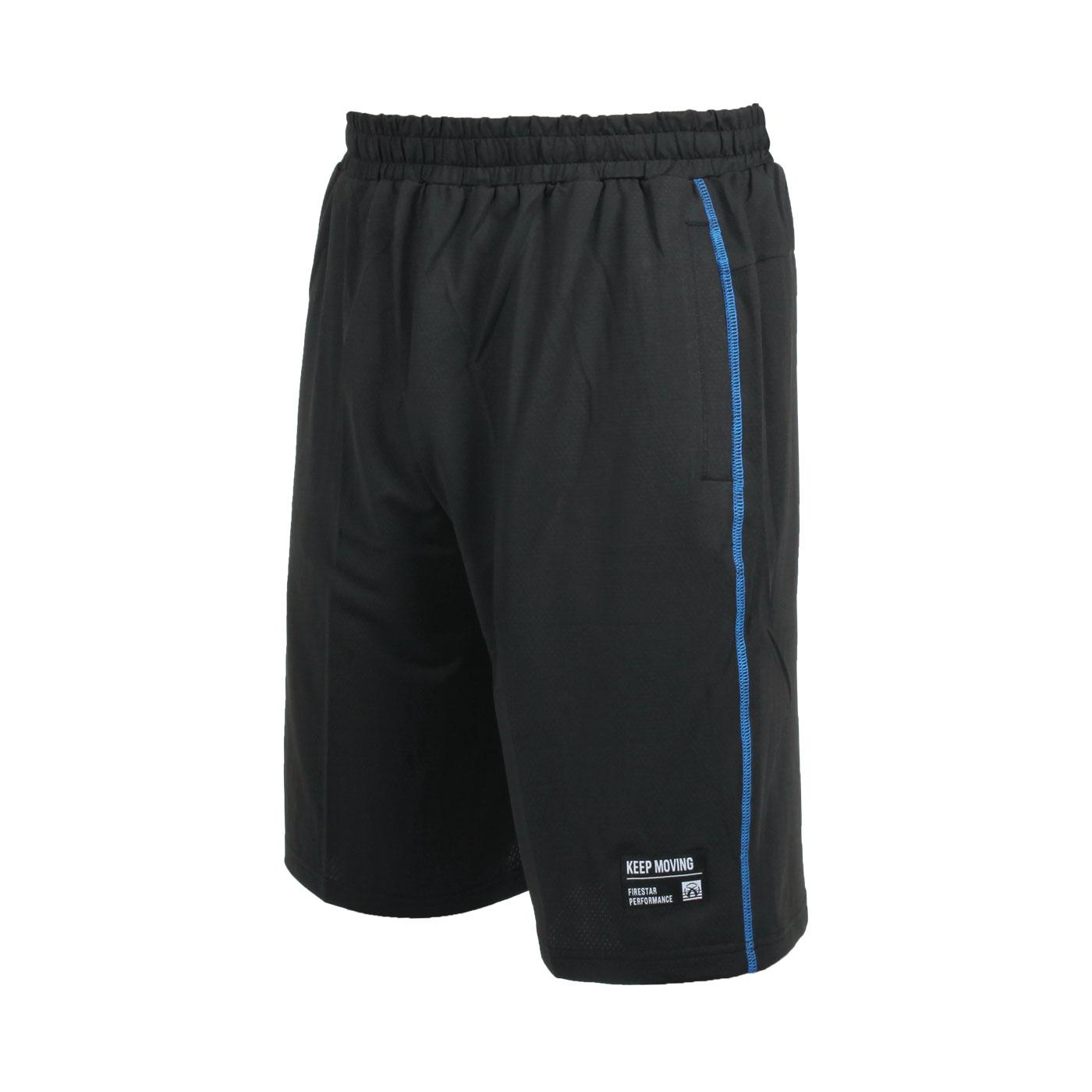 FIRESTAR 男款彈性訓練籃球短褲 B1705-92