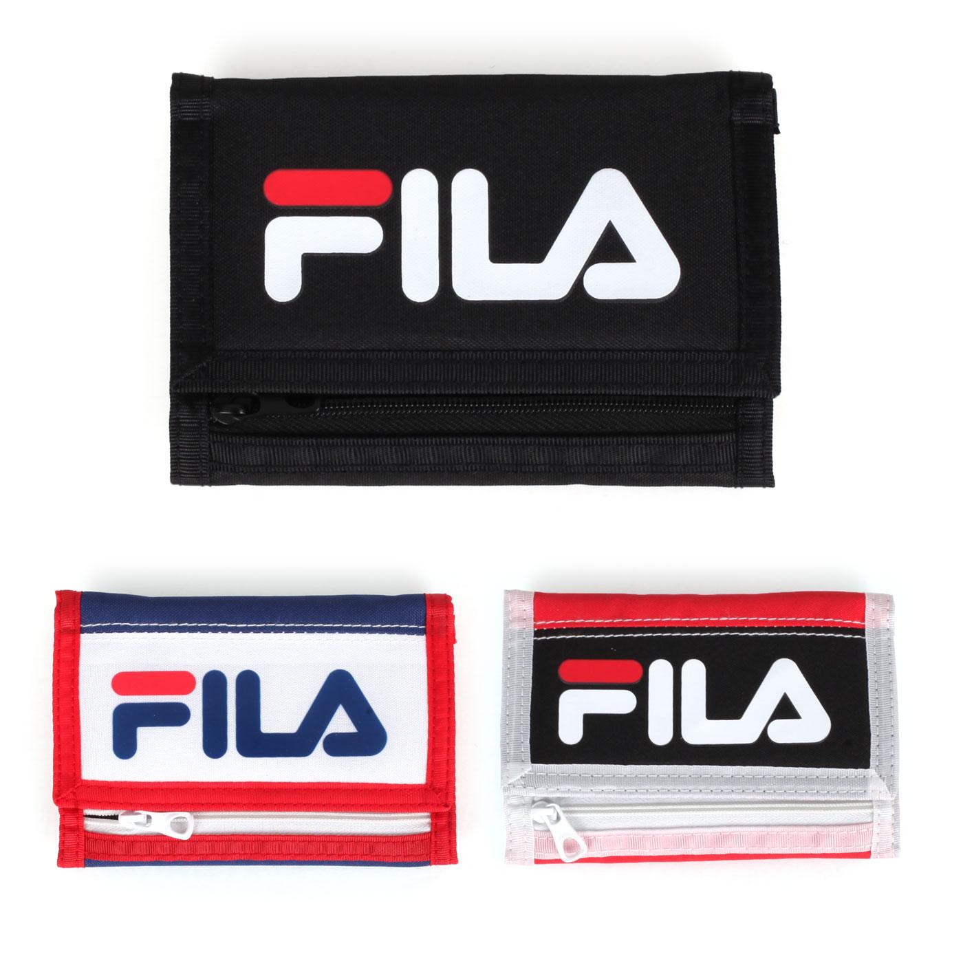 FILA 三摺運動短夾 PWT-9012-BK
